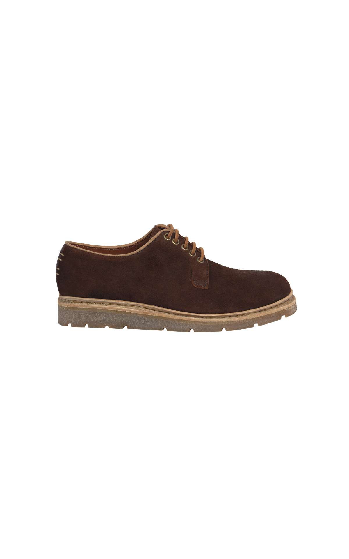 Brown organic shoes woman Lottusse