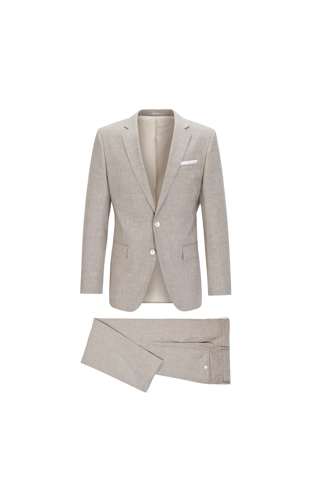 BOSS Men's slim-fit suit at The Bicester Village Shopping Collection