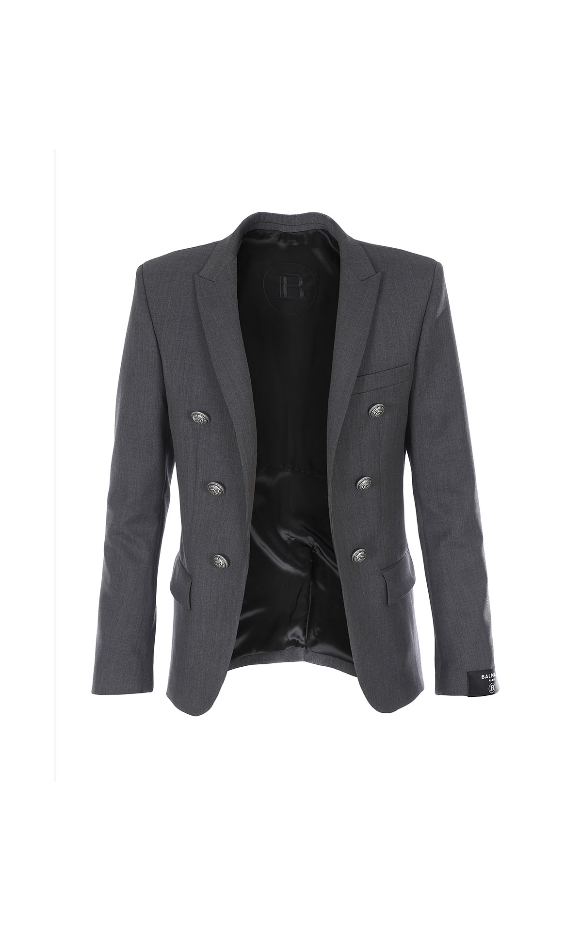 Balmain Double-breasted open blazer from Bicester Village