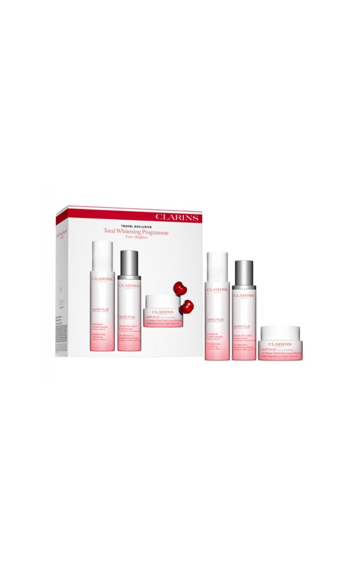 Clarins Total whitening program set La Vallée Village