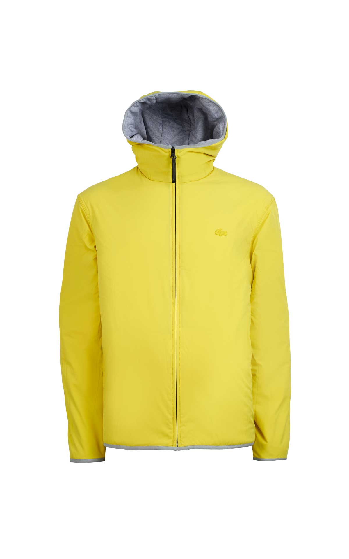 Yellow and grey reversible jacket Lacoste