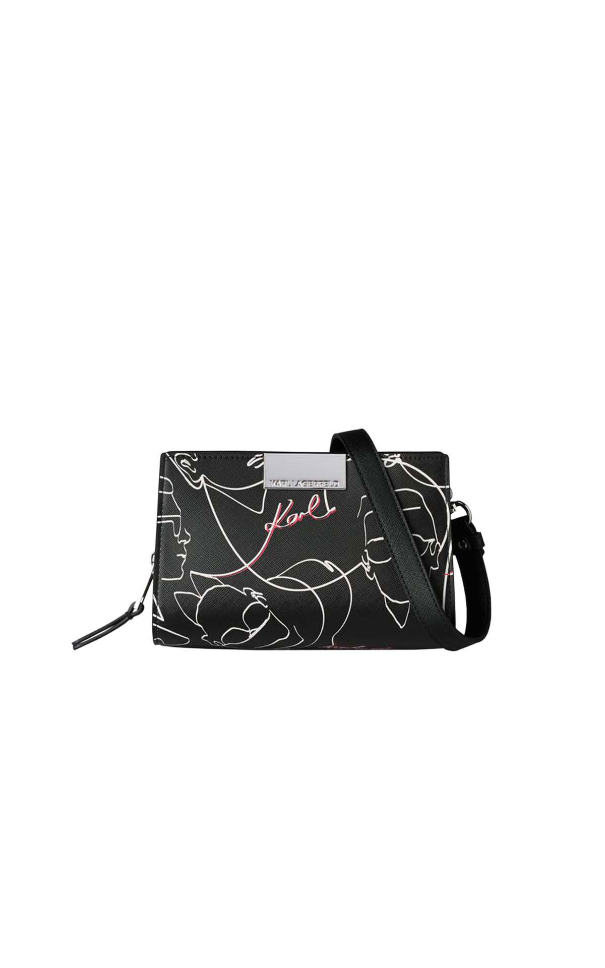 Karl Lagerfeld Mau printed crossbody at The Bicester Village Shopping Collection