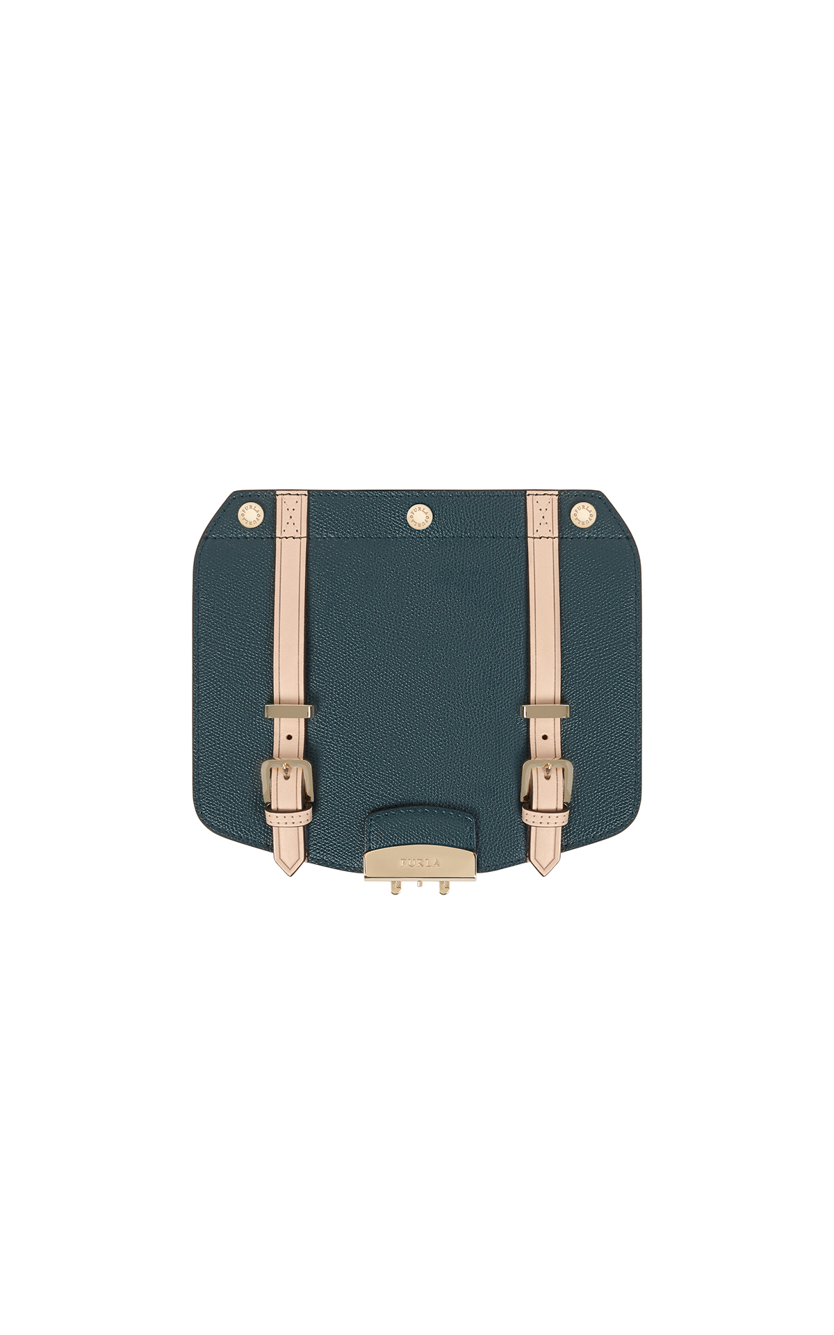 Furla teal metropolis small crossbody flap at The Bicester Village Shopping Collection