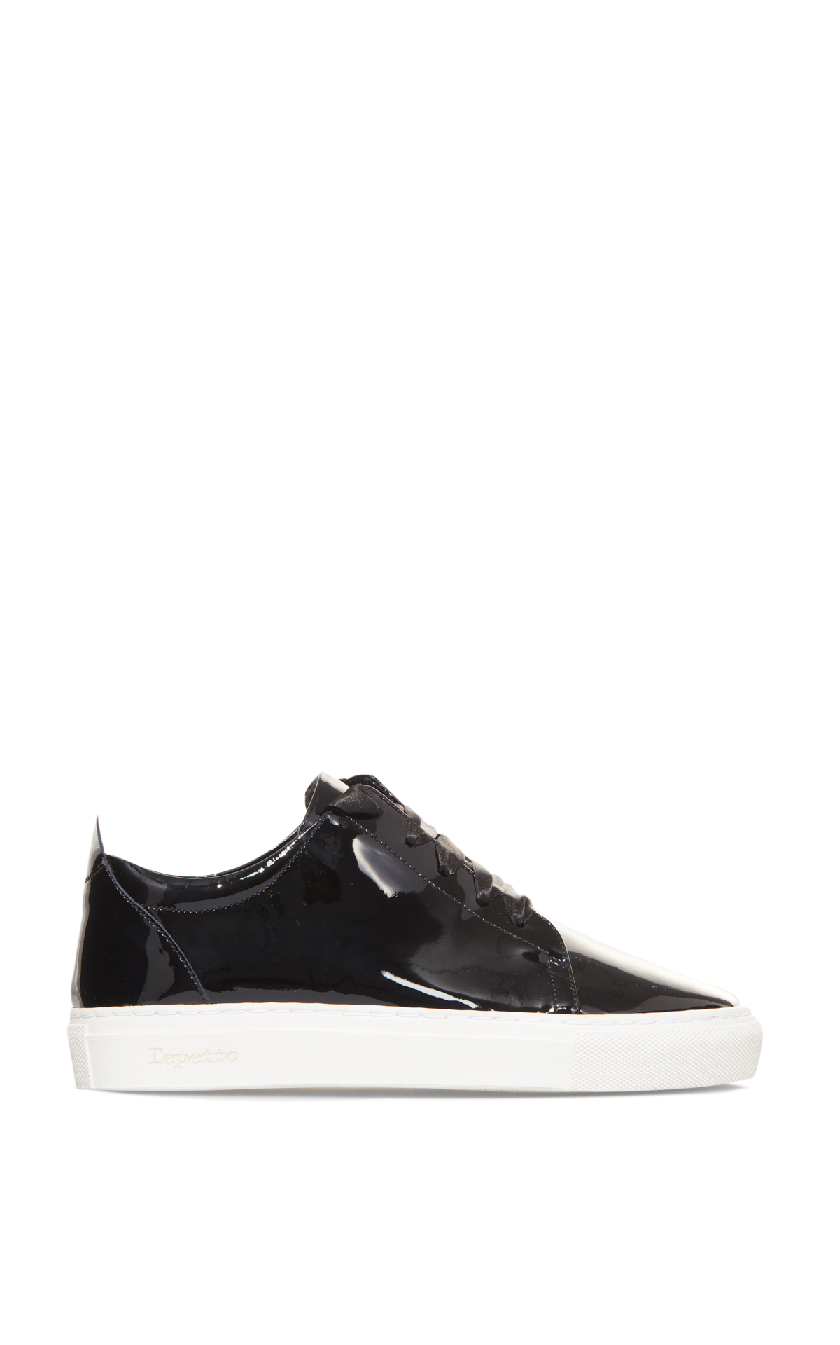 La Vallée Village Repetto Black patent leather sneakers