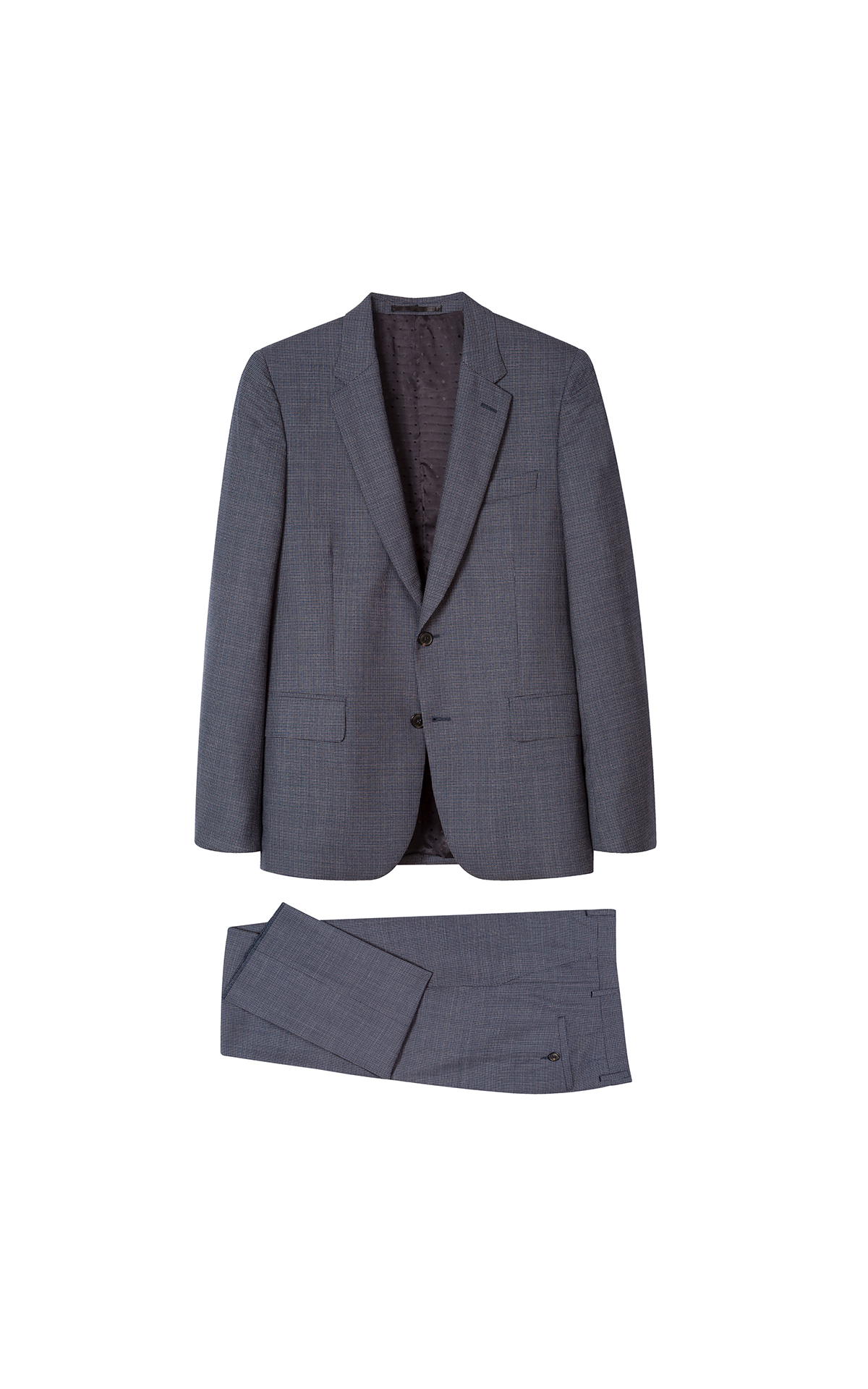 Paul Smith Men's grey suit at The Bicester Village Shopping Collection