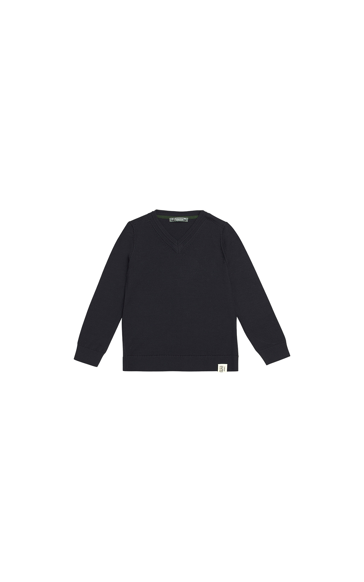 Bonpoint Boy's black jumper | La Vallée Village
