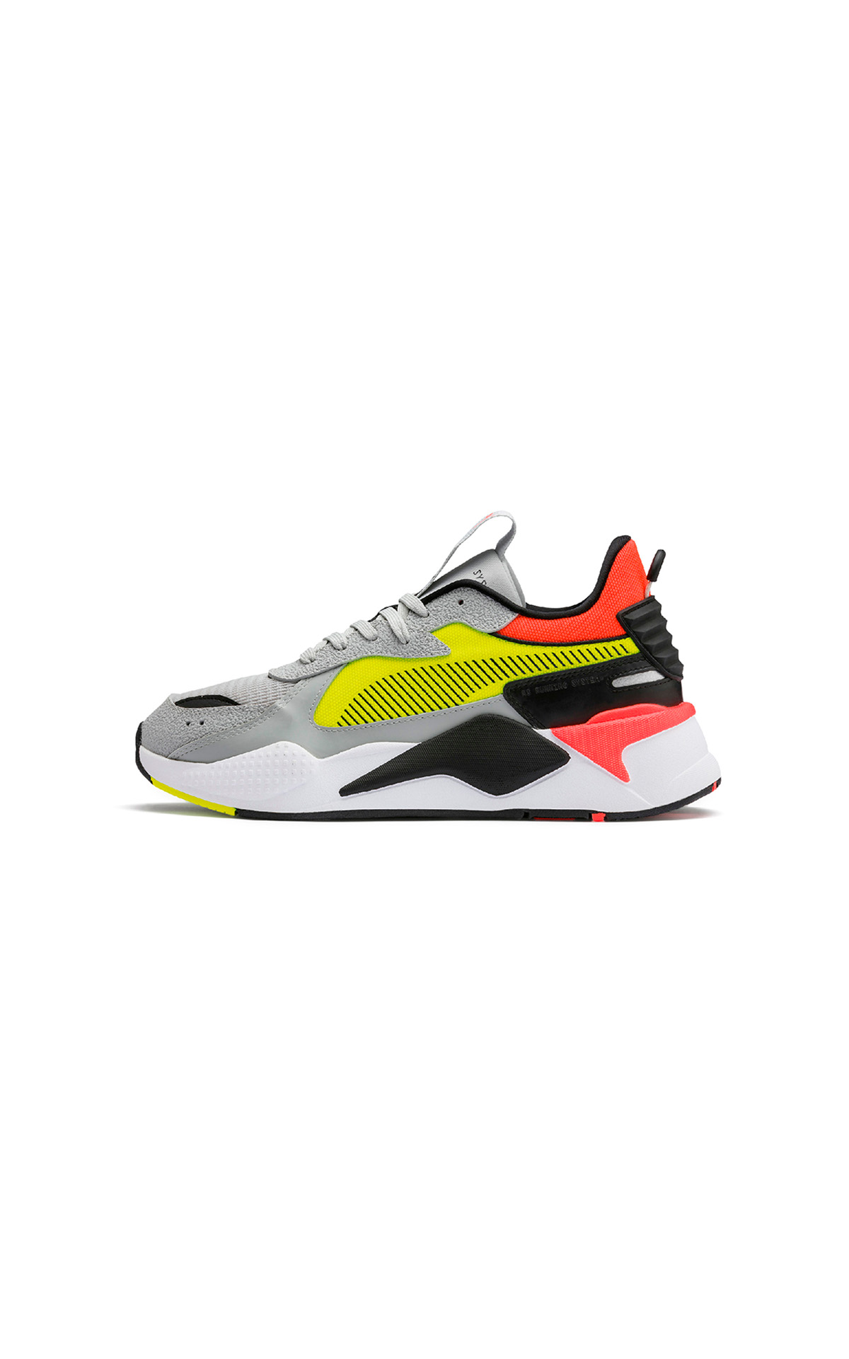 PUMA RS-X hard drive high rise in yellow fusion at The Bicester Village Shopping Collection