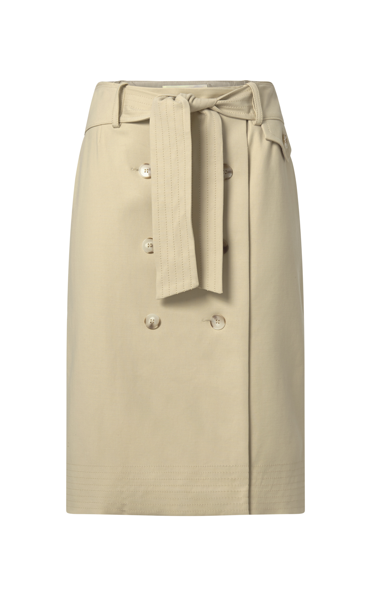 Beige skirt with bottons Ba&sh