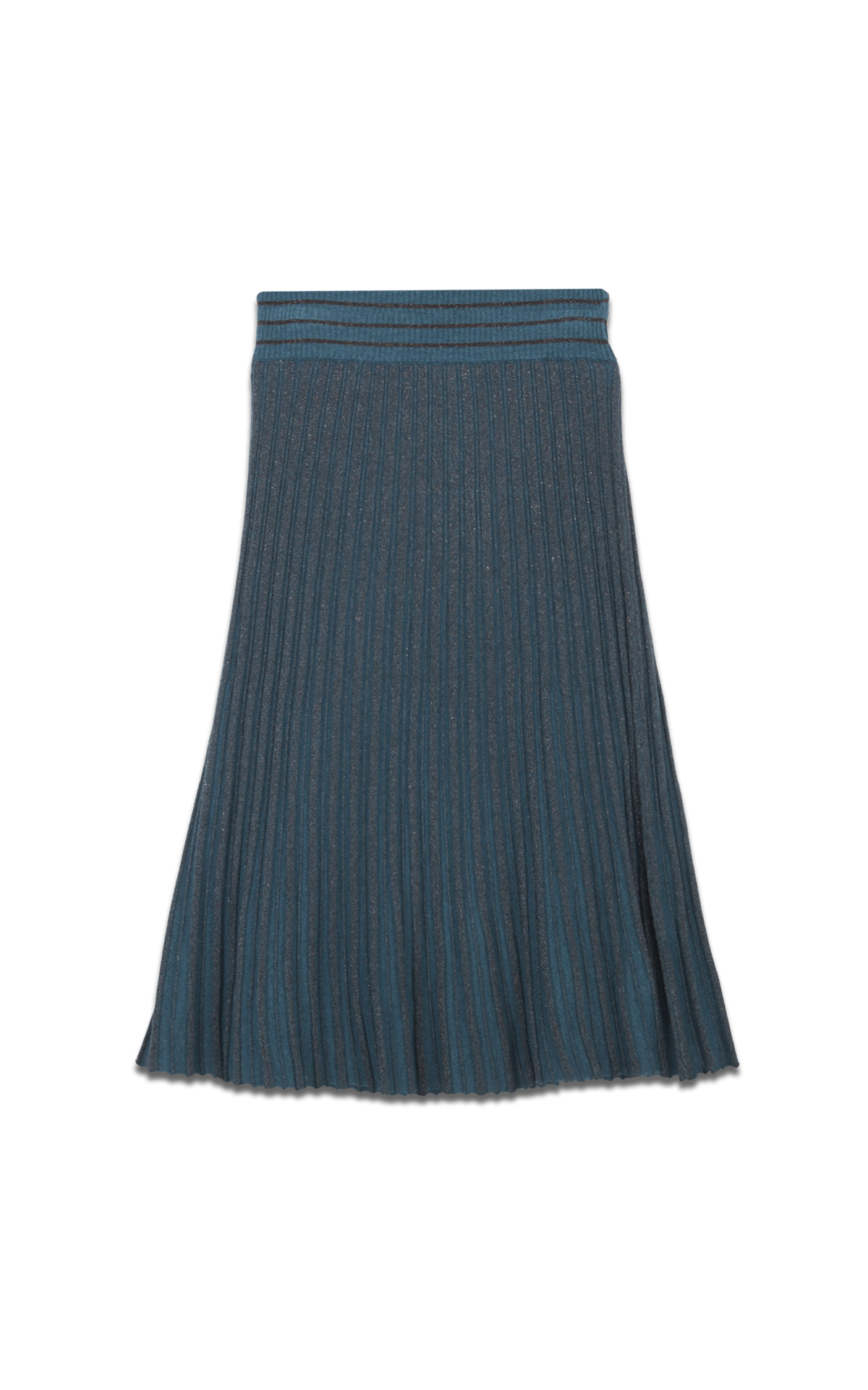 Apostrophe Sequinned pleated skirt*