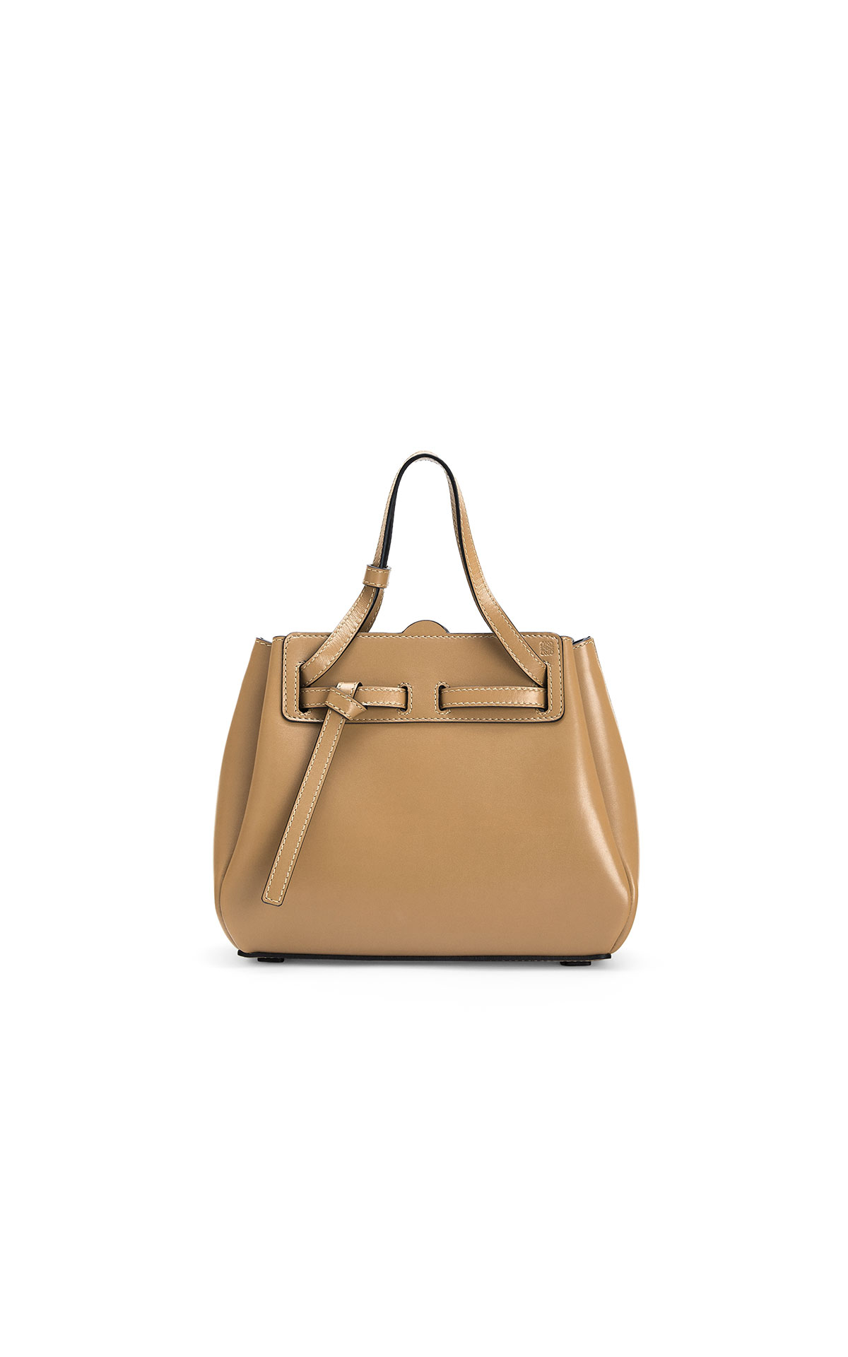 LOEWE Lazo mini bag in dune at The Bicester Village Shopping Collection