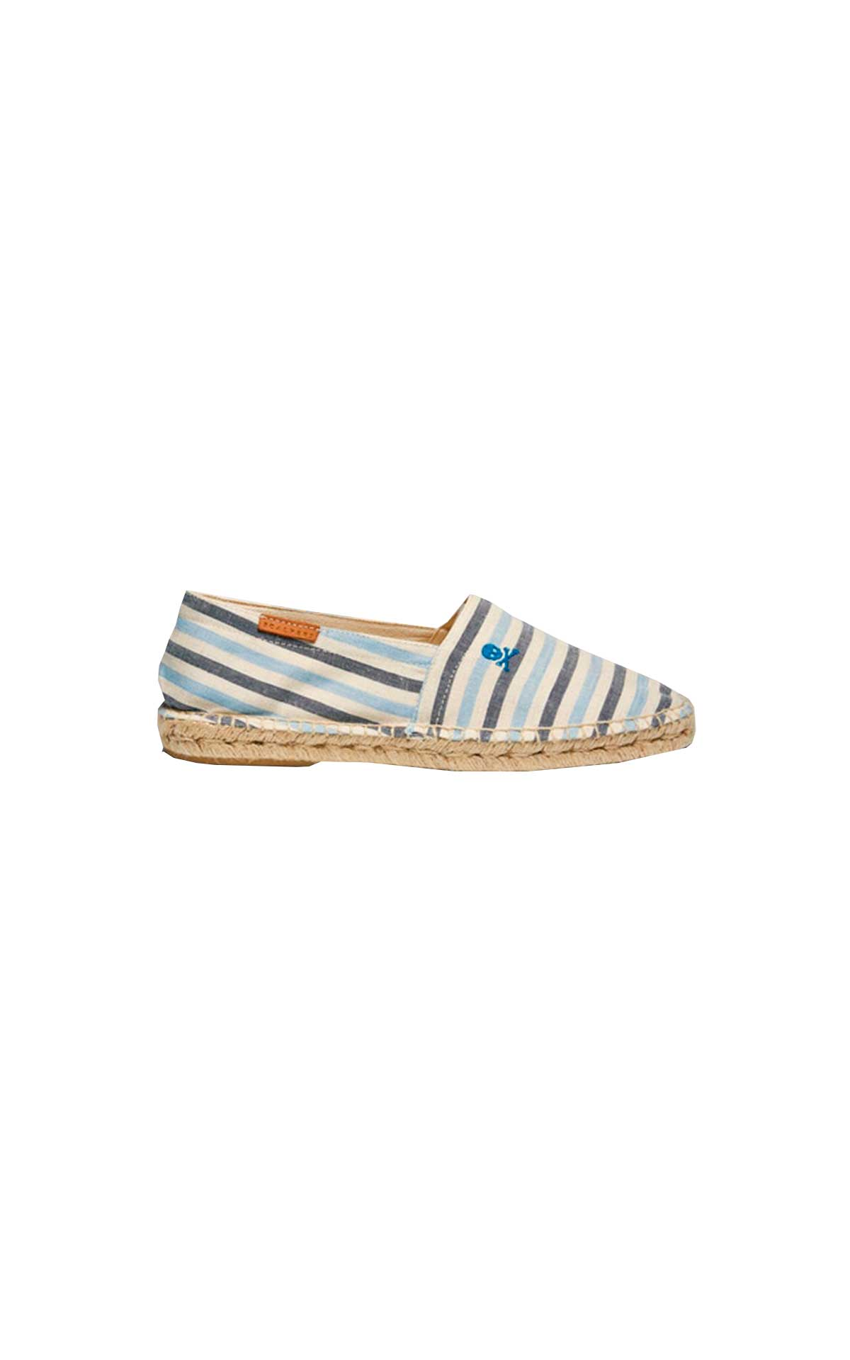 Blue striped espadrilles for man Scalpers