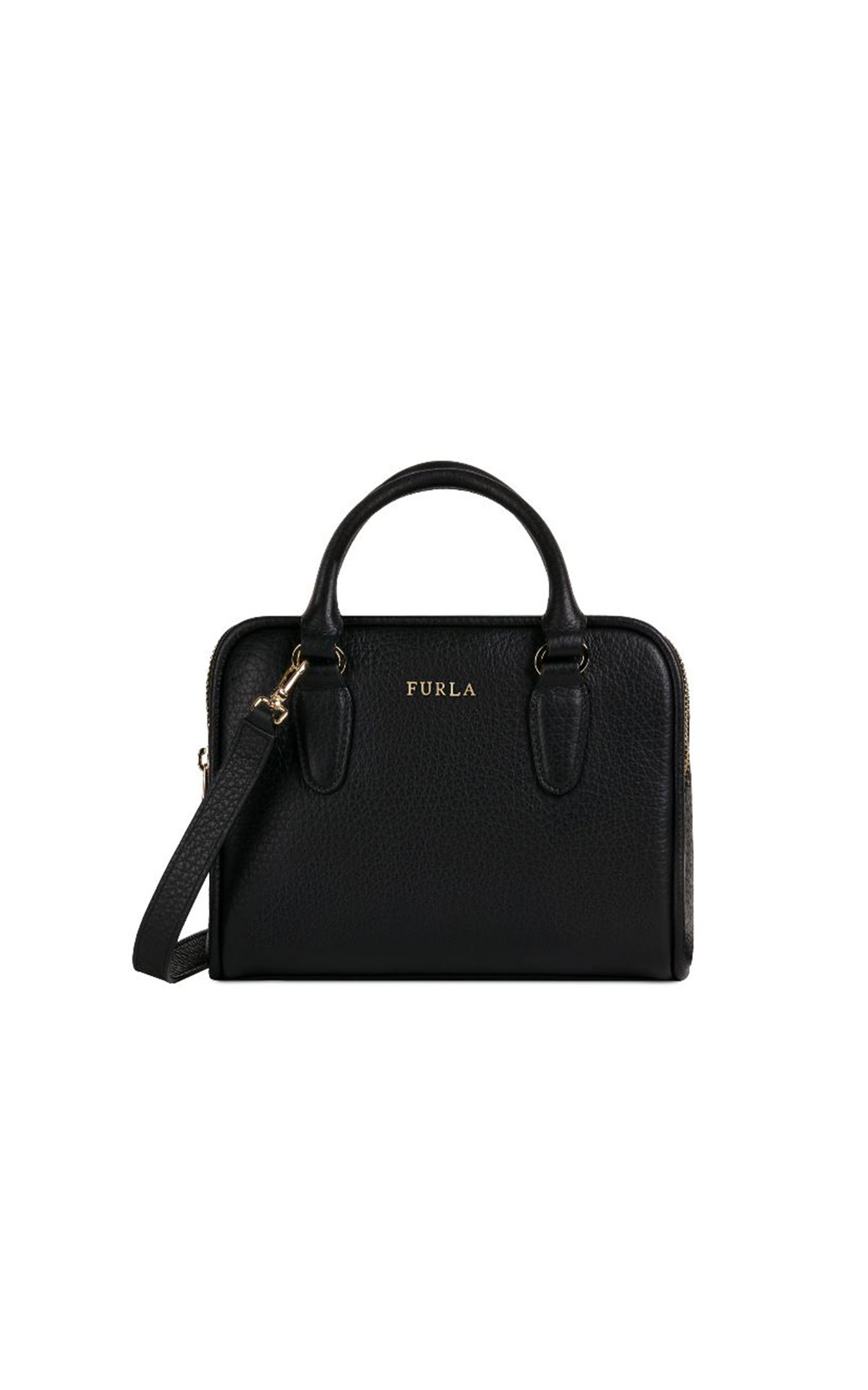 Furla SIRI Satchel in yellow at Maasmechelen Village