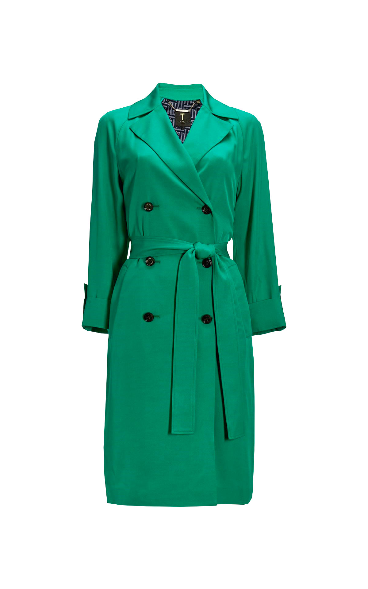 Green coat Ted Baker
