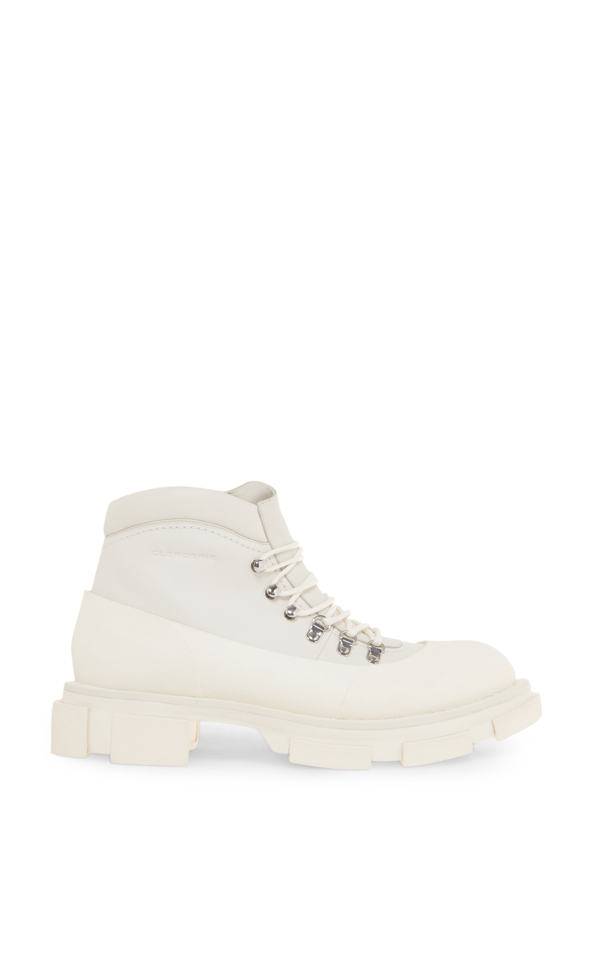 Clergerie women's white Banco boots la vallée village