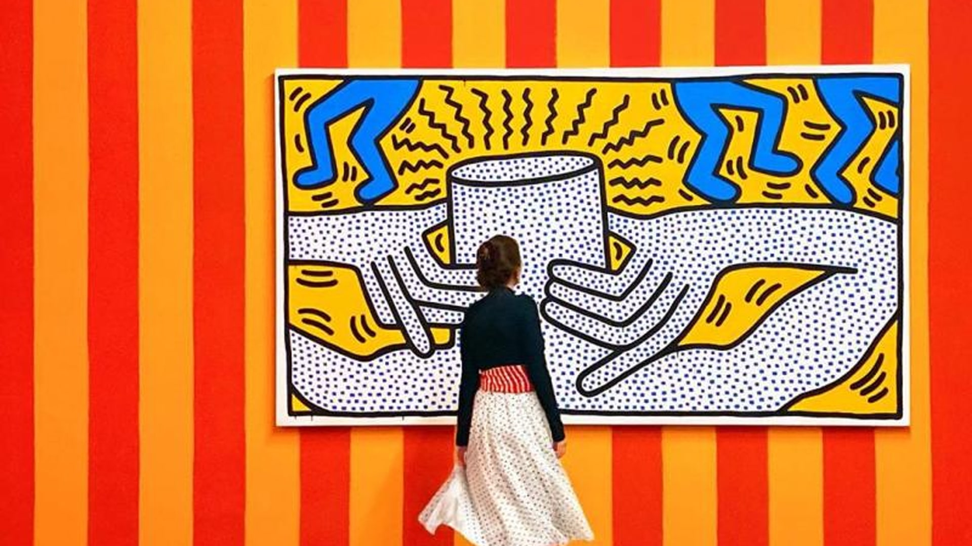 Bozar Brussels Keith Haring picture by Sophie Kugel