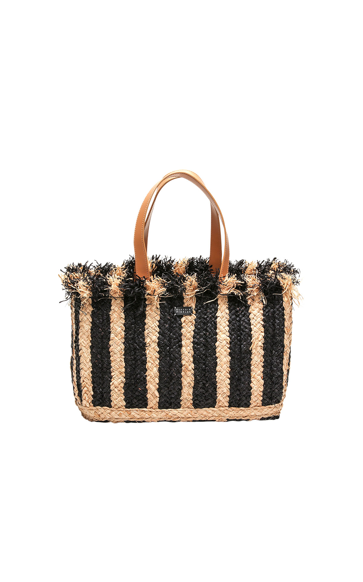 Claudie Pierlot striped bag at the Bicester Village Shopping Collection
