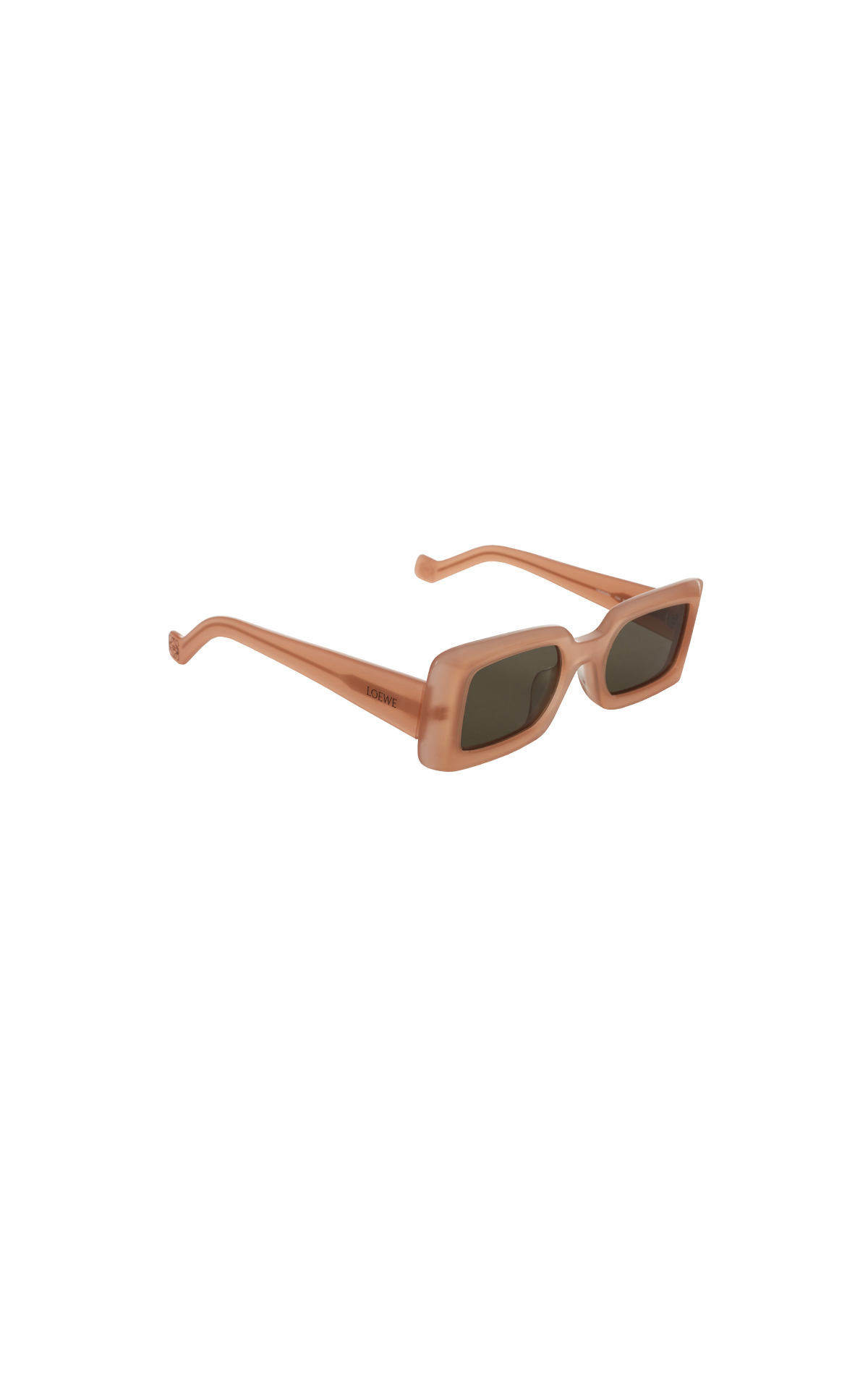 Loewe Acetate square sunglasses pink and green smoke from Bicester Village
