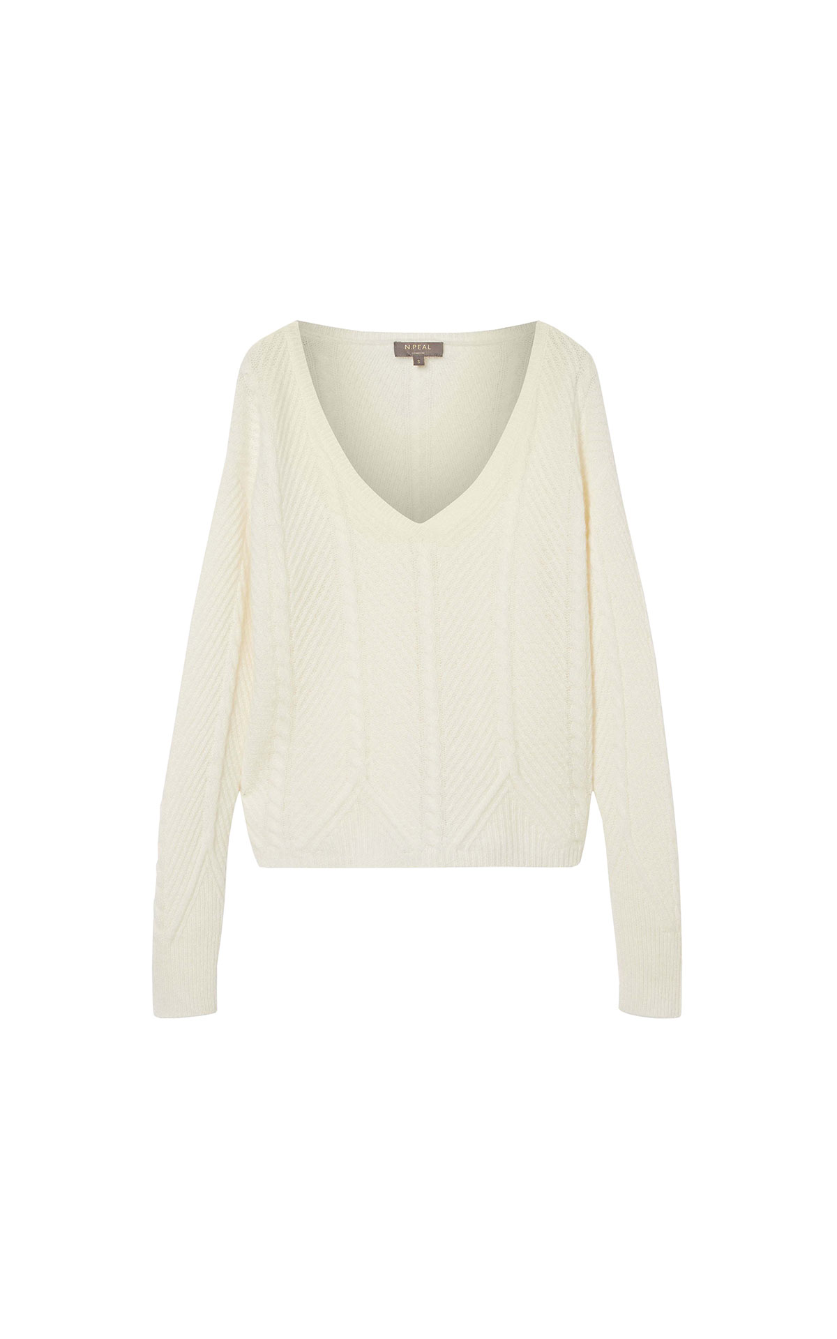 N.Peal Ladies cropped jumper from Bicester Village