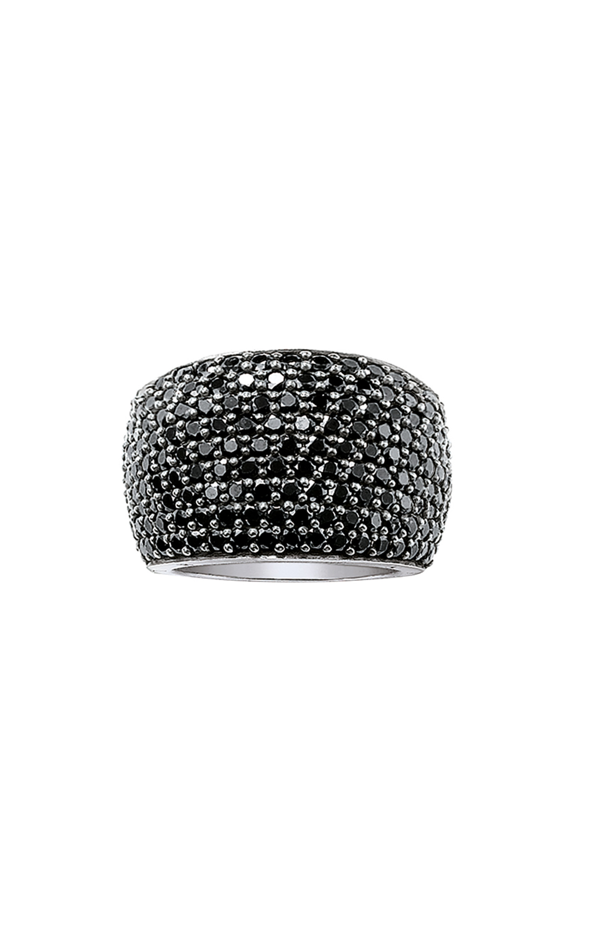 Black ring Thomas Sabo