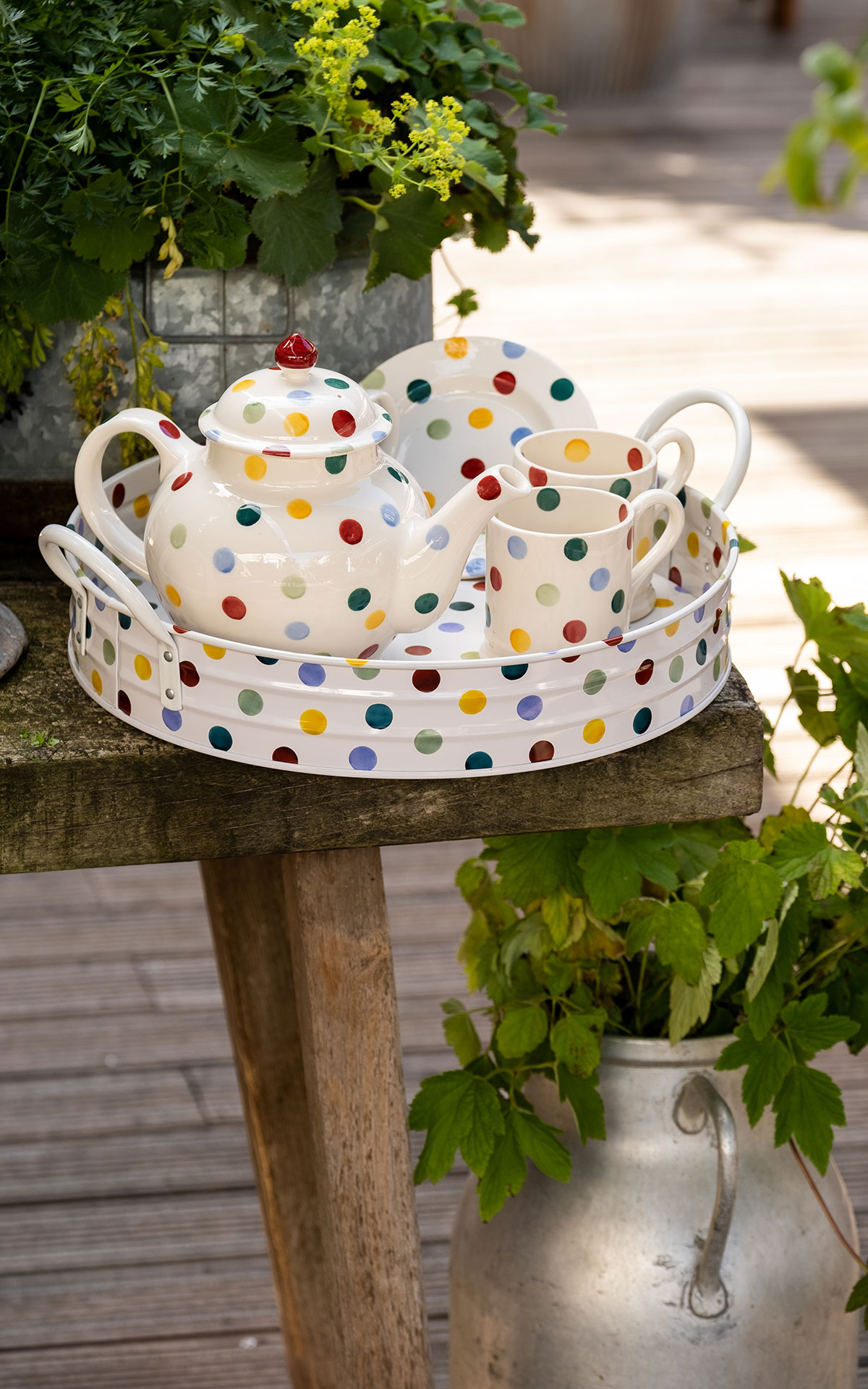 Emma Bridgewater Polka collection from Bicester Village