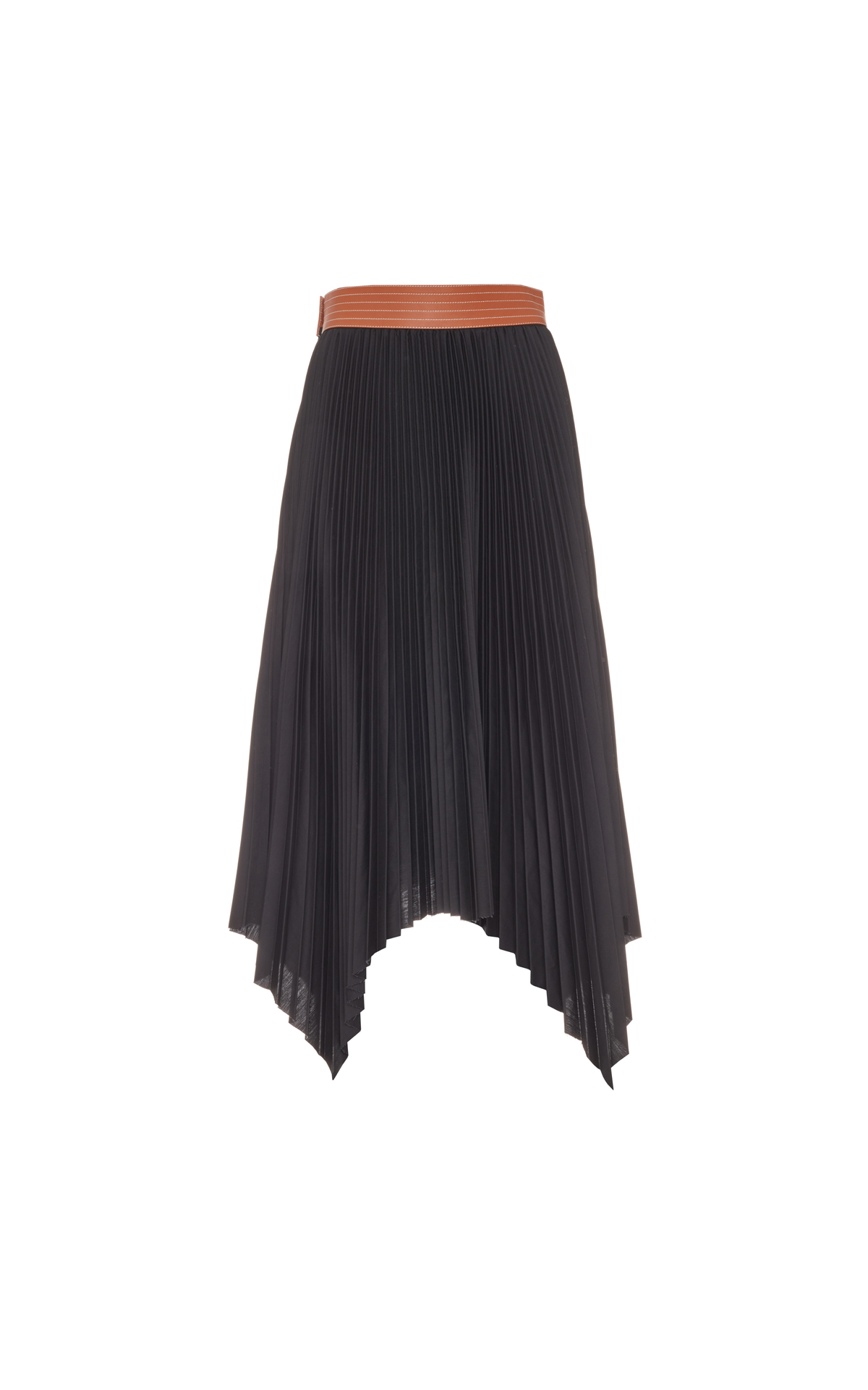 La Vallée Village Loewe Pleated Skirt Negro/Br