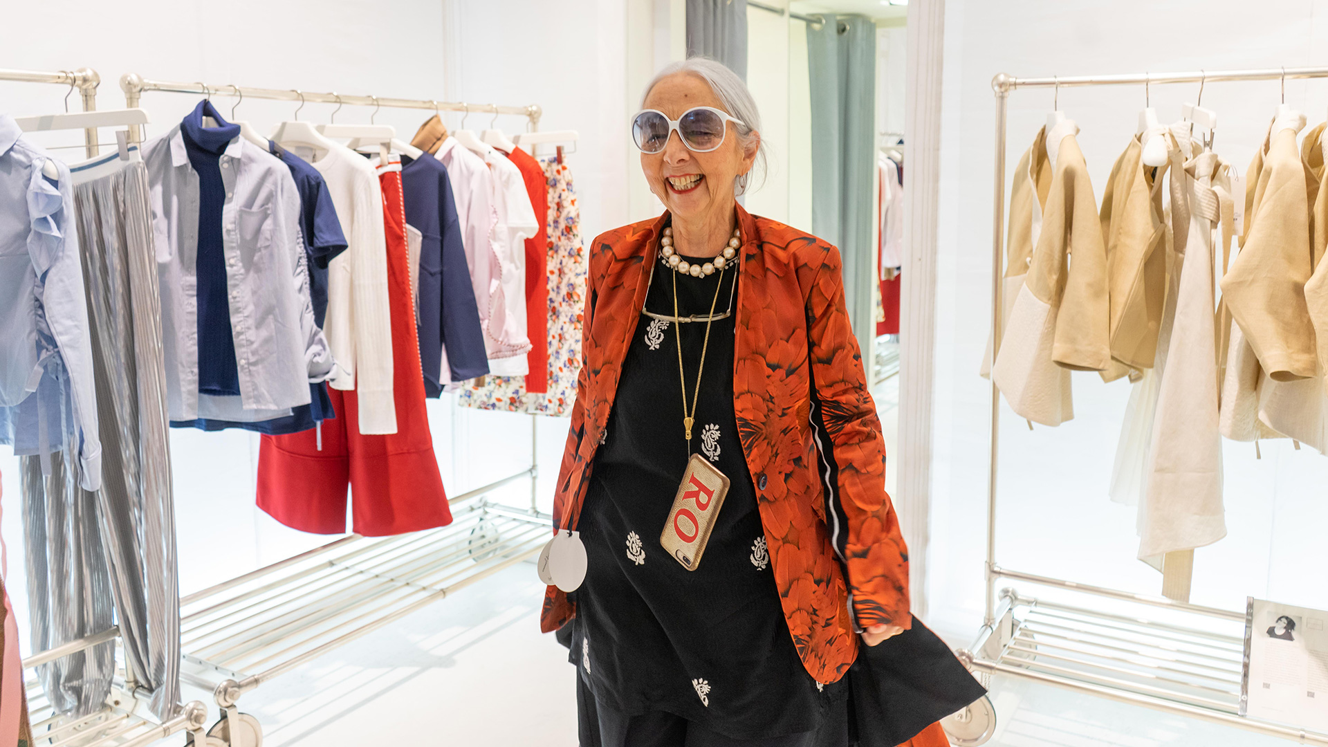 Rossana Orlandi at The Creative Spot boutique in Fidenza Village