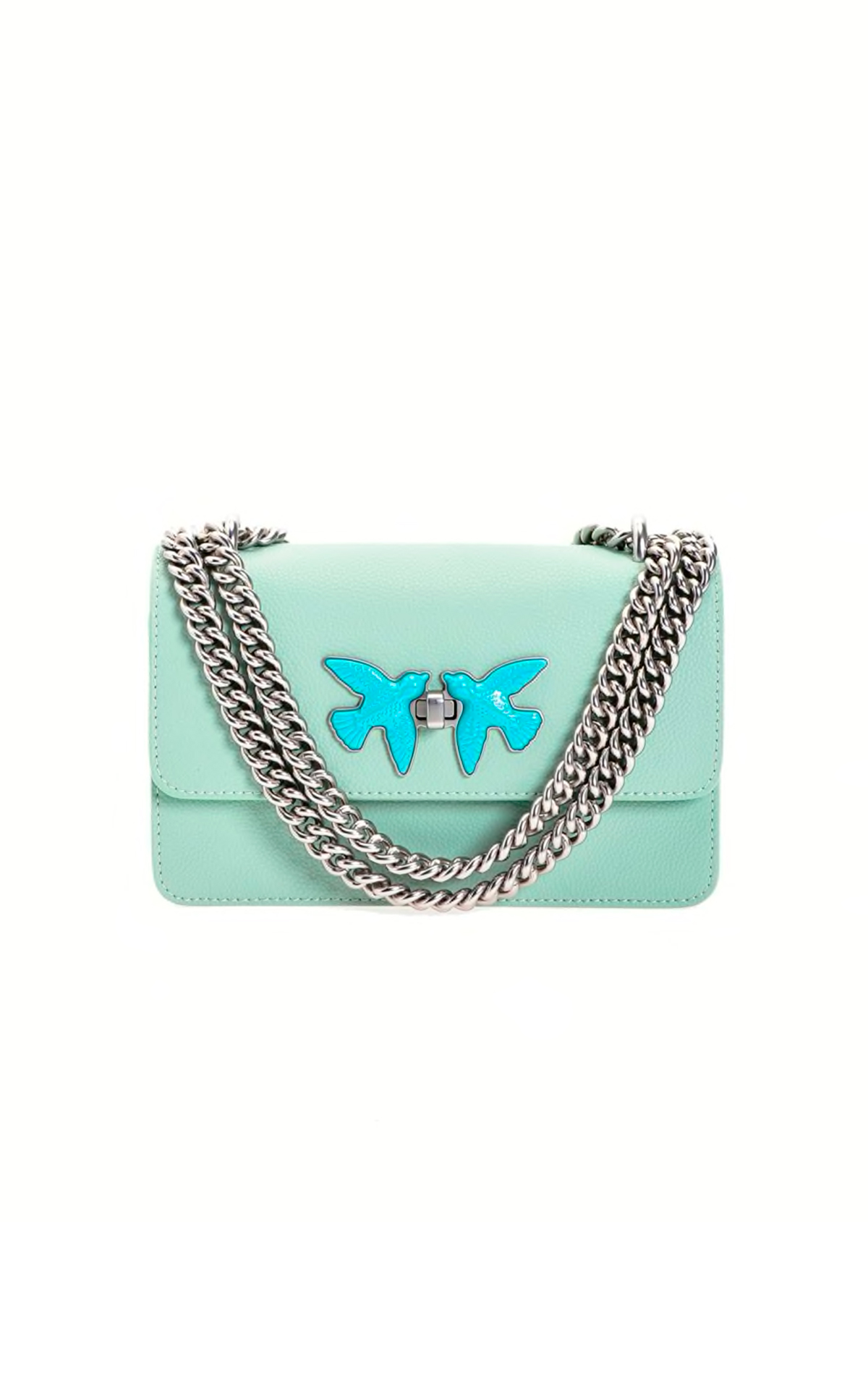 Light blue Love bag Pinko