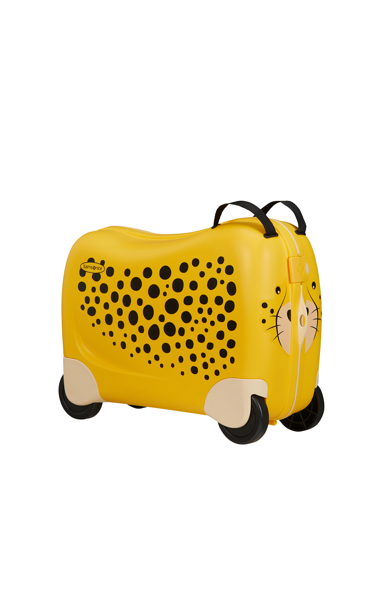 Samsonite child cheetah suitcase La Vallée Village