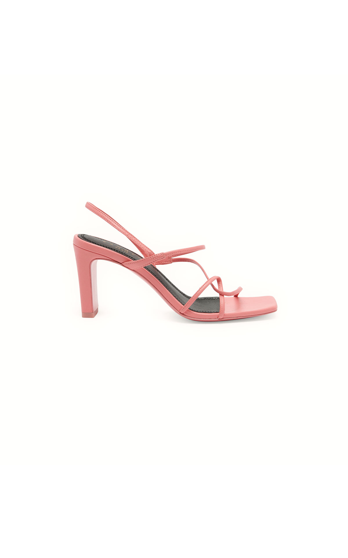 Sandro sandal with wide heel at The Bicester Village Shopping Collection