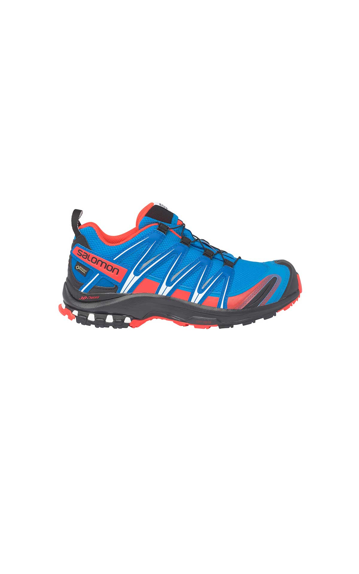 Blue montrail sneakers man Salomon