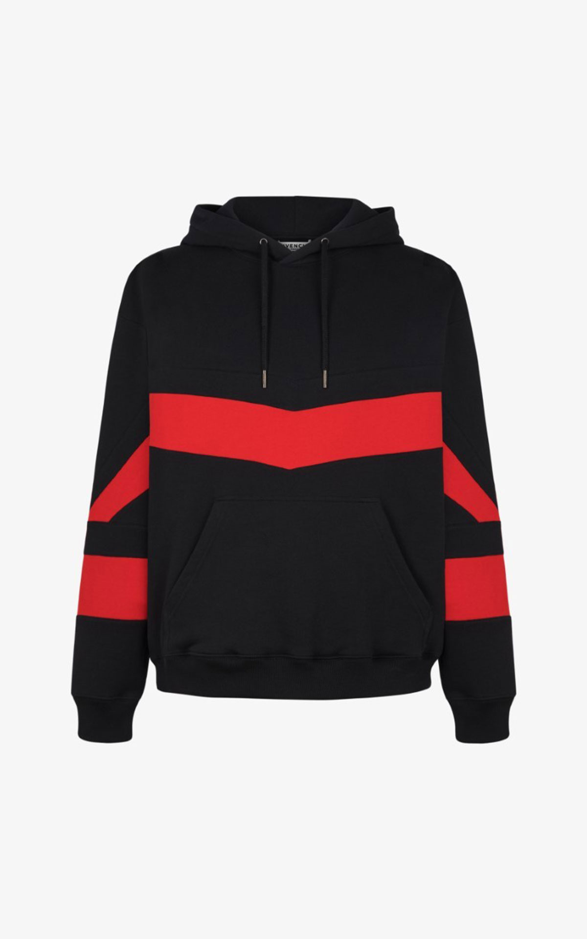 Givenchy Red and black hoodie from Bicester Village