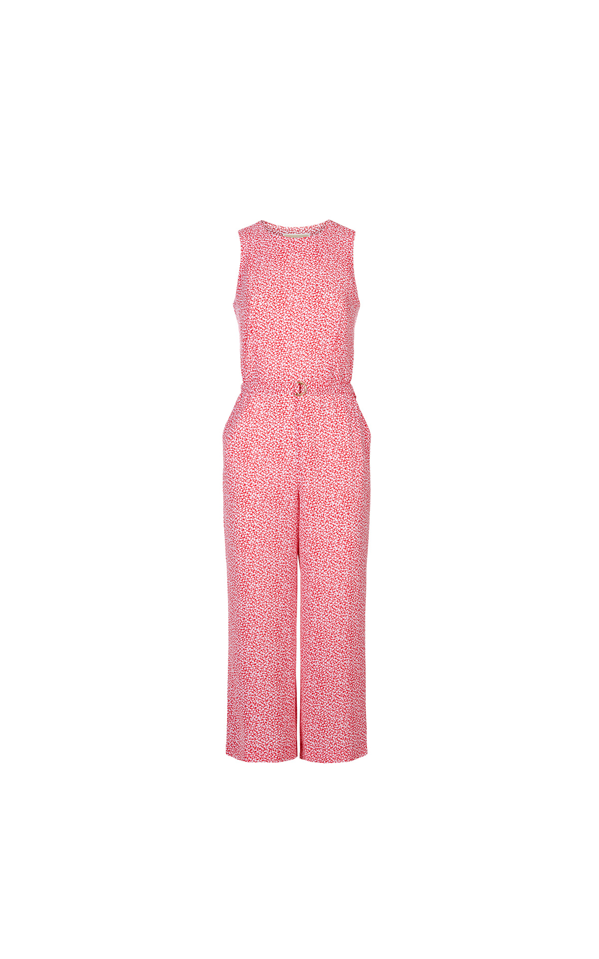 Michael Kors D ring jumpsuit in coral at The Bicester Village Shopping Collection