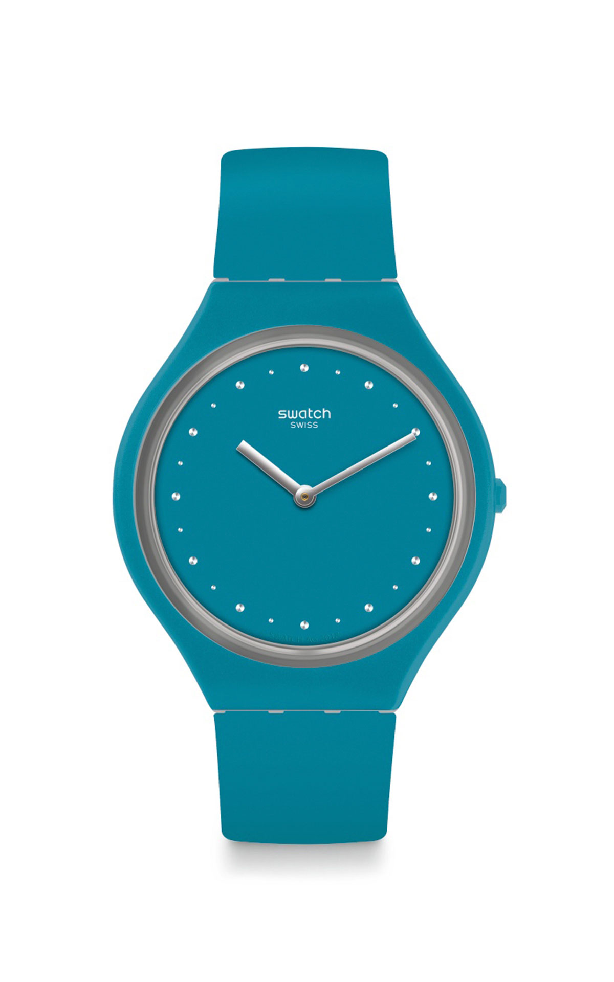 Turquoise watch Swatch