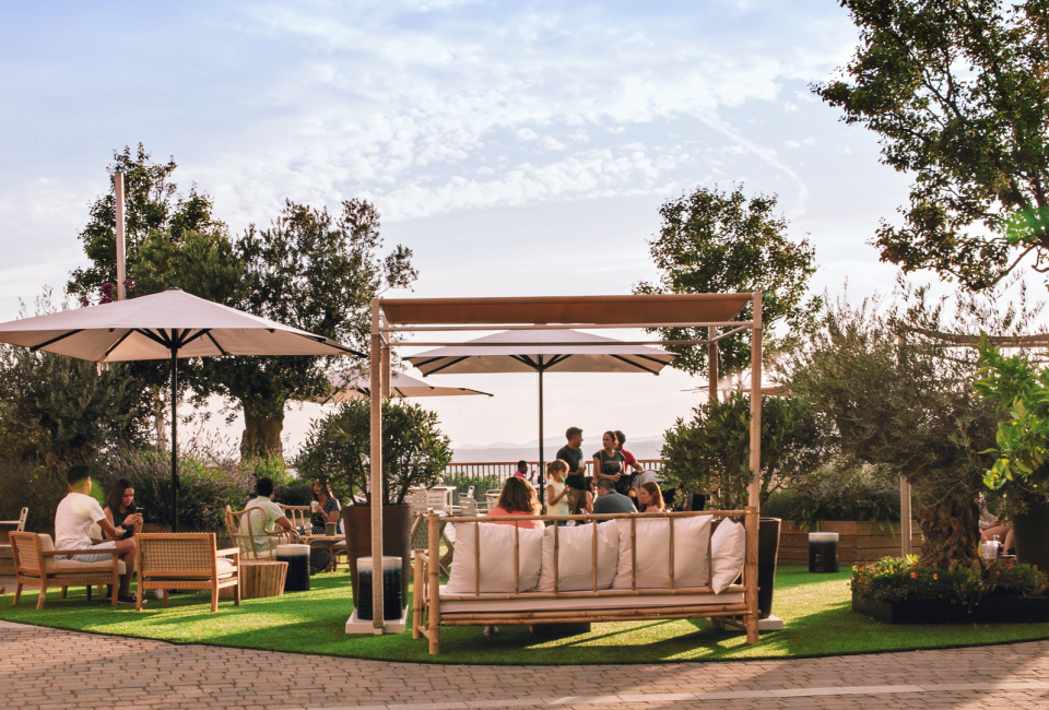 Las Rozas Village terrace