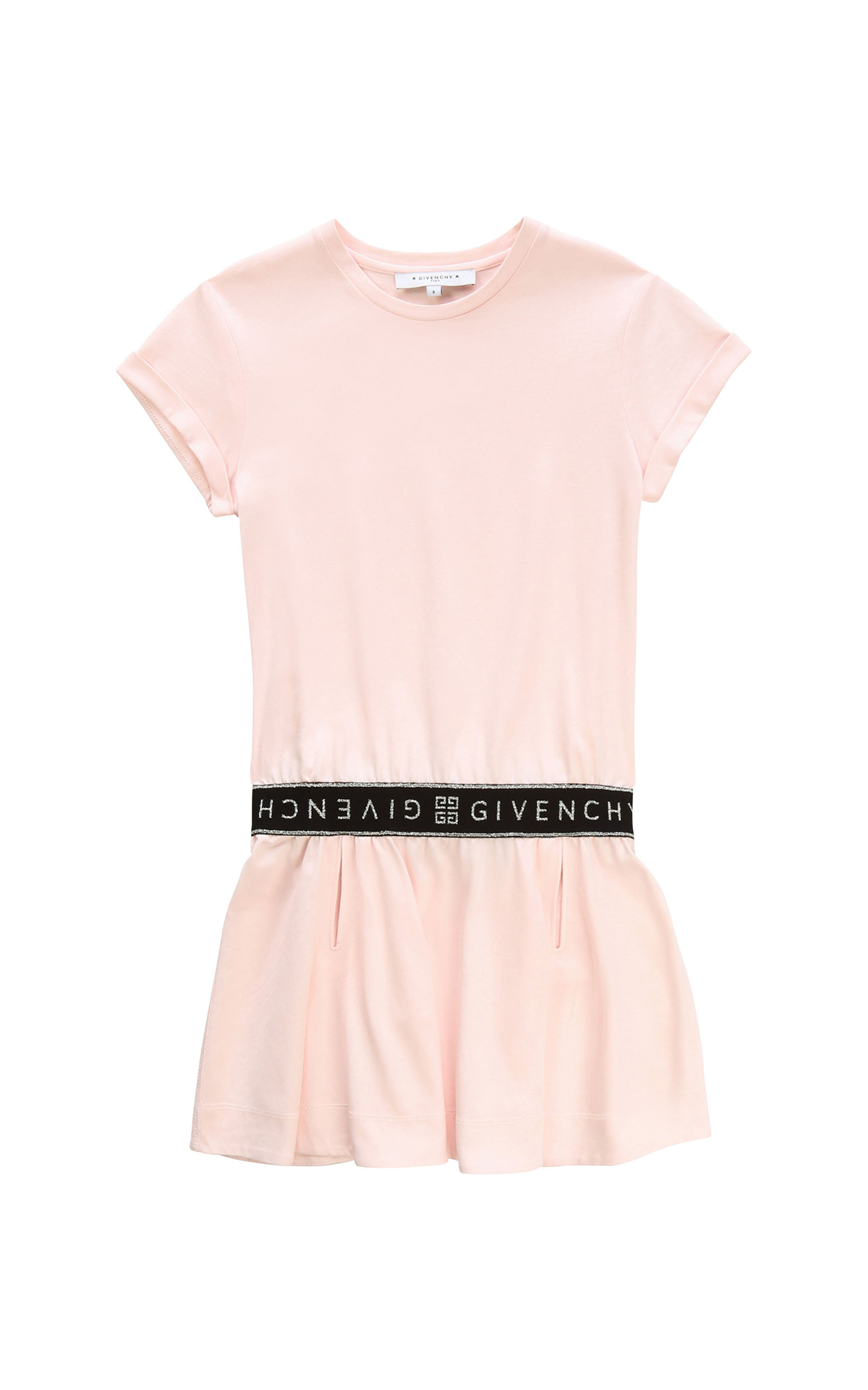 Vestido rosa Givenchy Kids Around