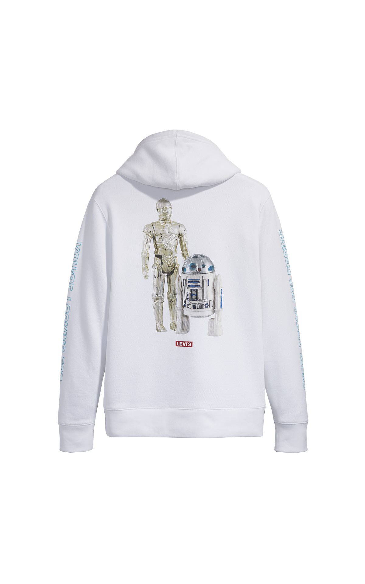 White Graphic hoodie Star Wars Levi's