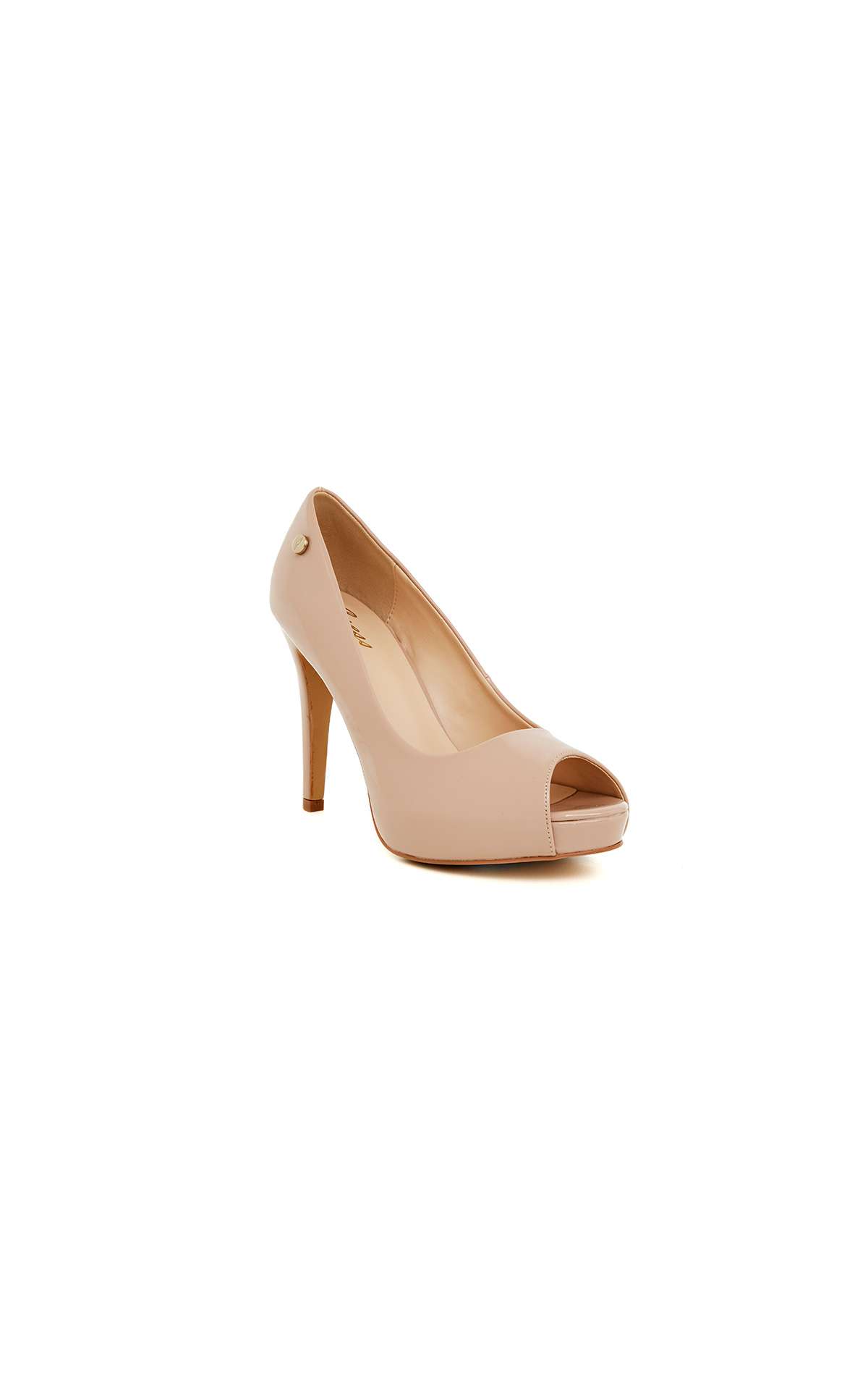 Beige Mary heels for woman Guess