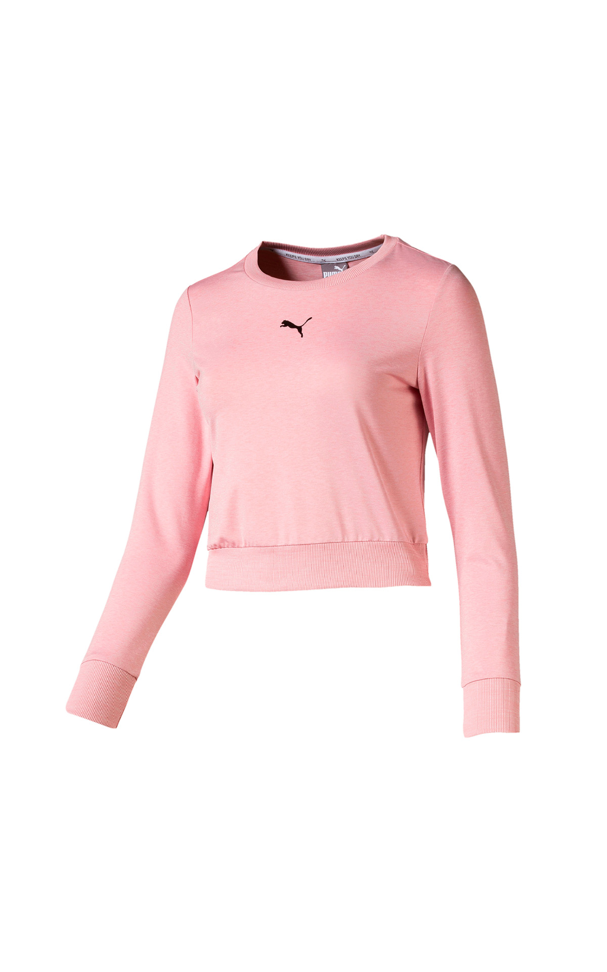 PUMA soft sports long sleeve tee in pink at The Bicester Village Shopping Collection