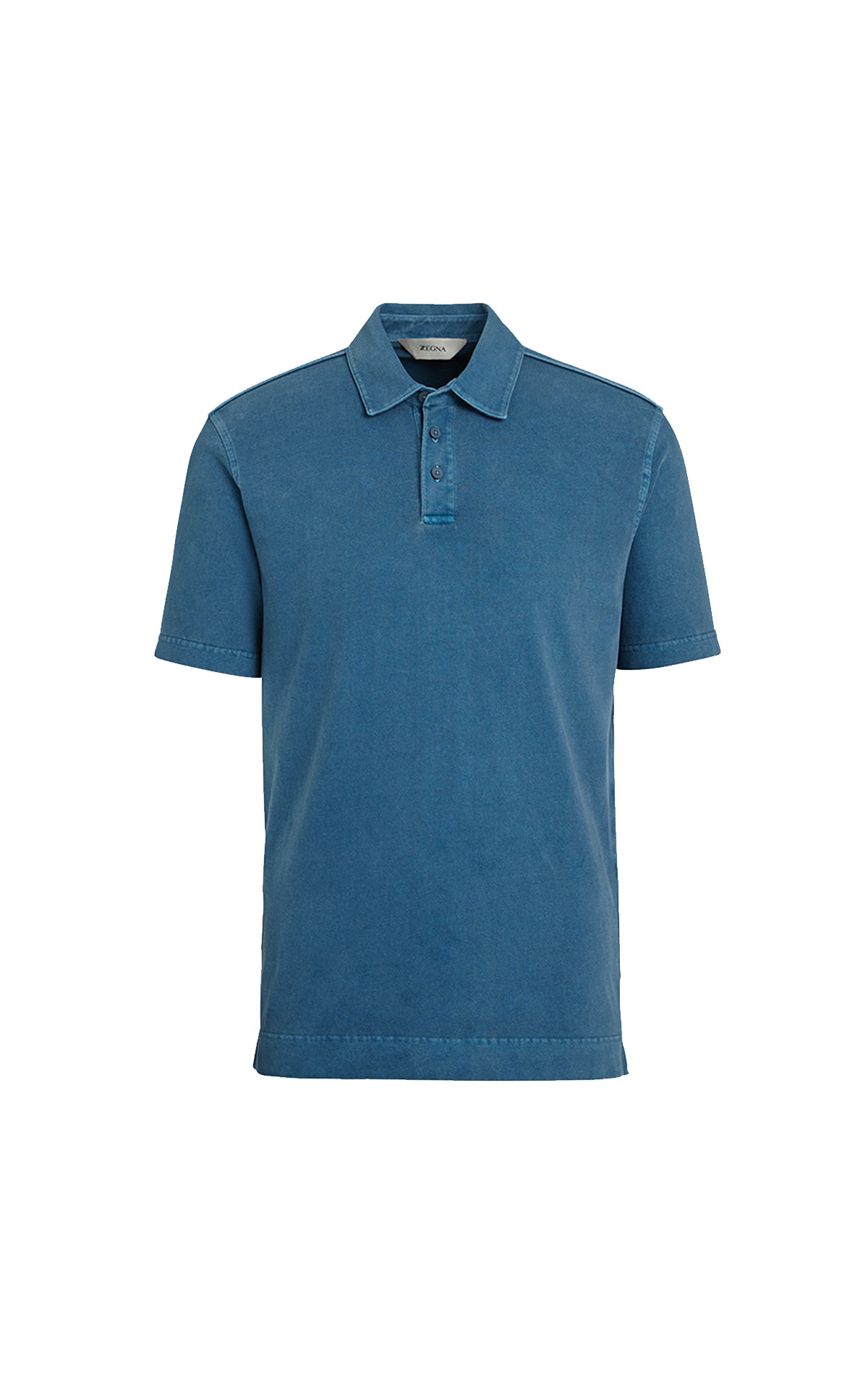 Blue polo shirt Zegna