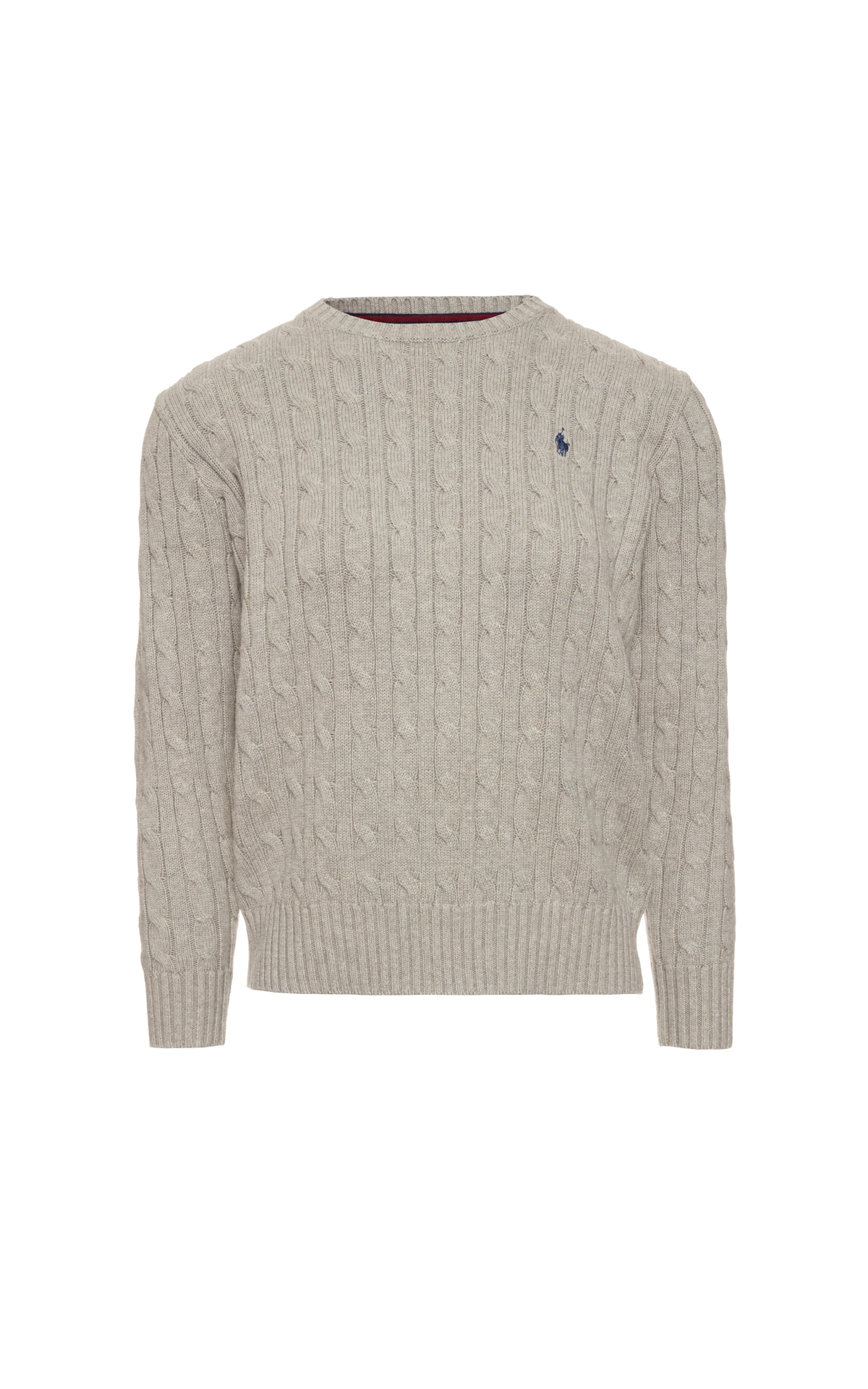 Polo Ralph Lauren Children's Cotton Cable Crew Neck Sweater at The Bicester Village Shopping Collection