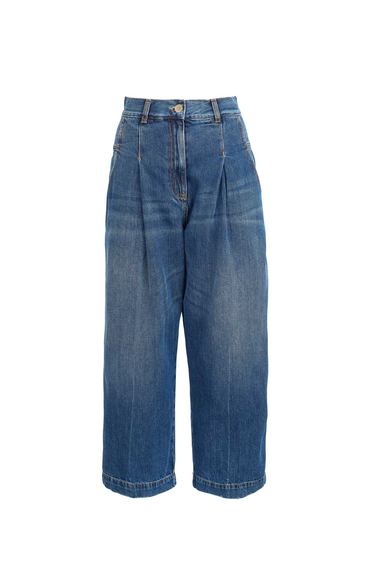 Denim trousers Pinko