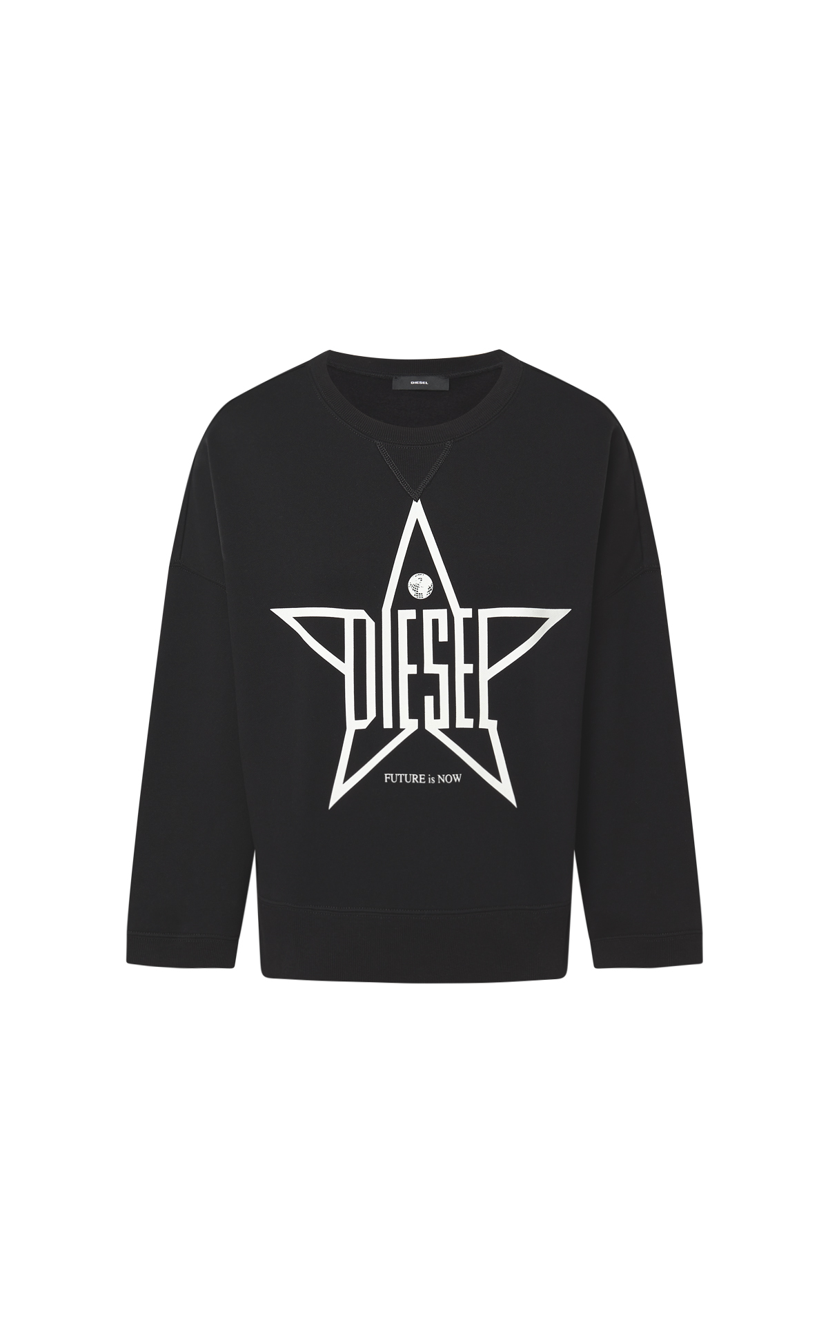 Black sweatshirt star Diesel