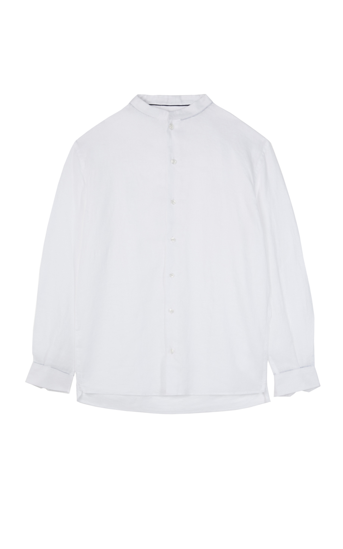White linen shirt Adolfo Dominguez