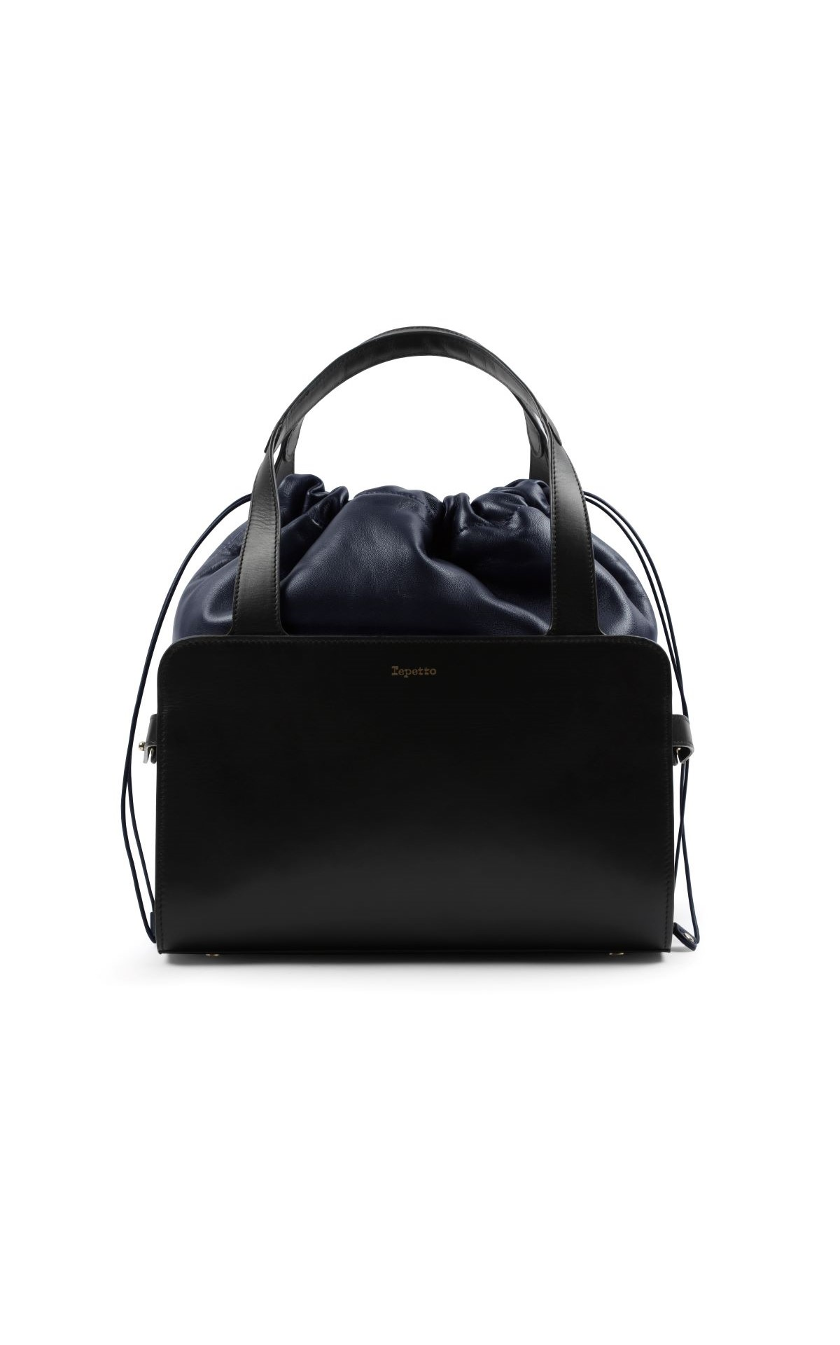 La Vallée Village Repetto Black Grand Enveloppé bag