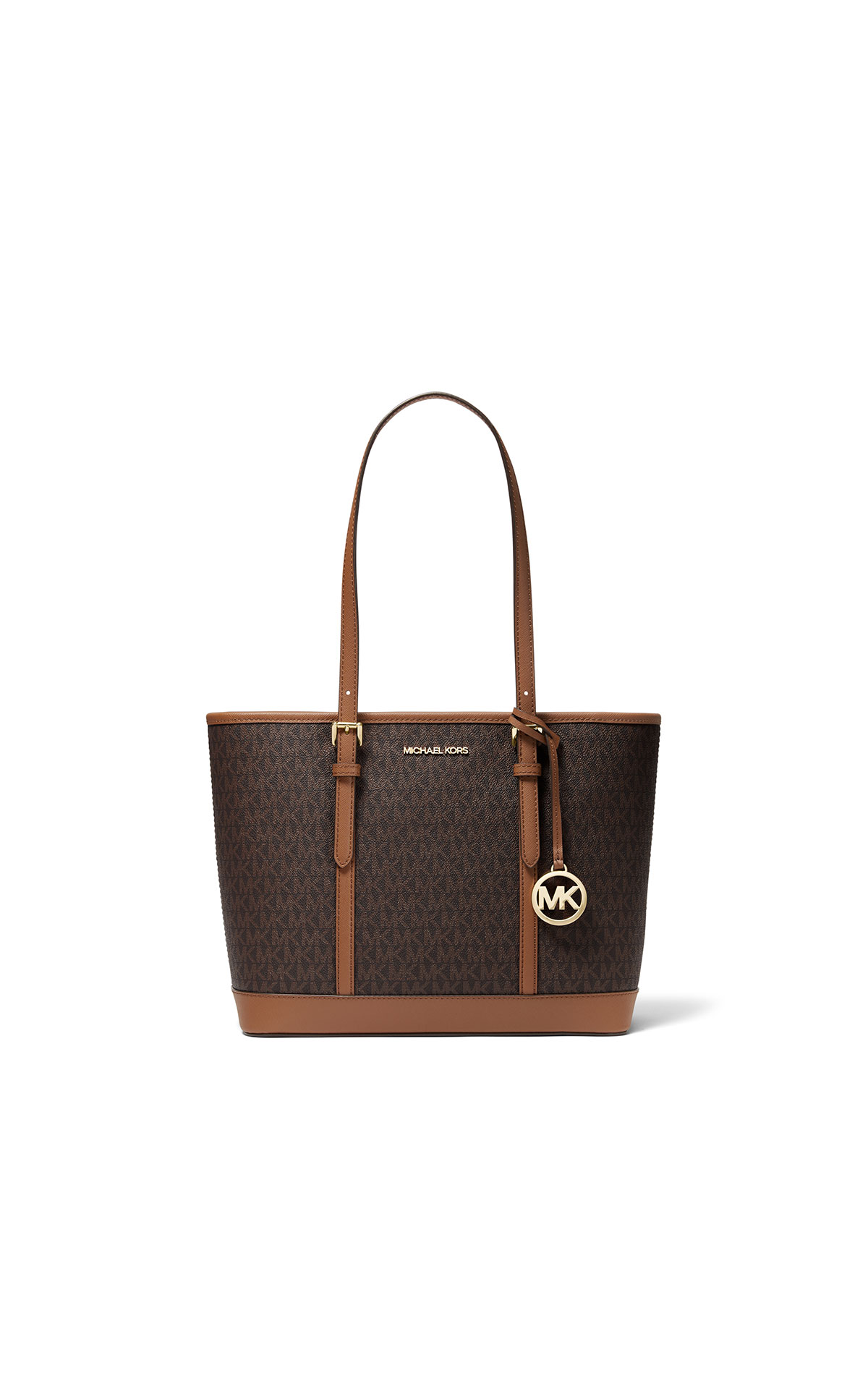 Michael Kors jet set small tz shoulder tote at the Bicester Village Shopping Collection