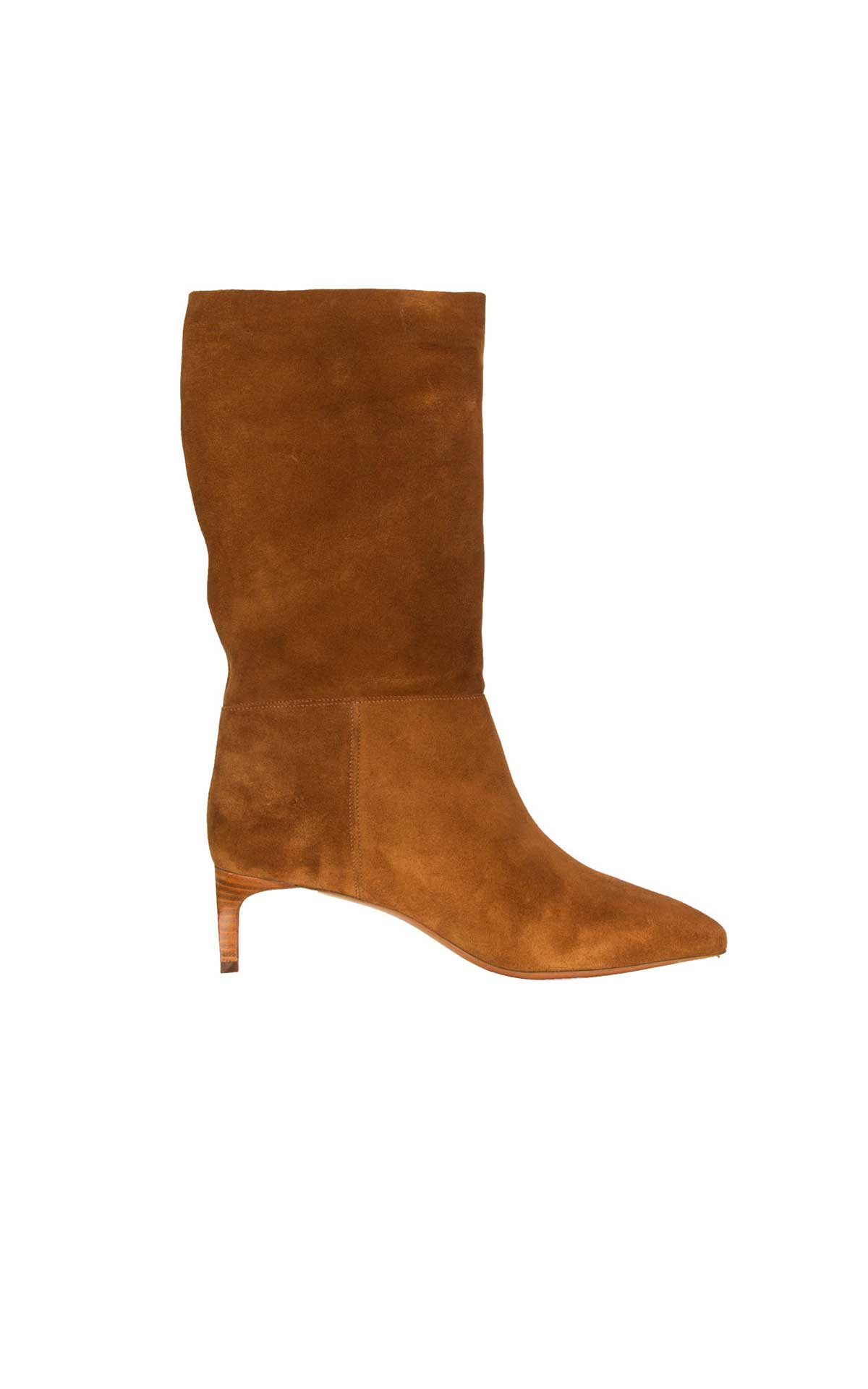 Brown suede boots ba&sh