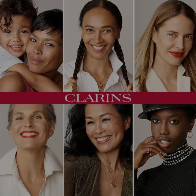 Clarins is coming soon