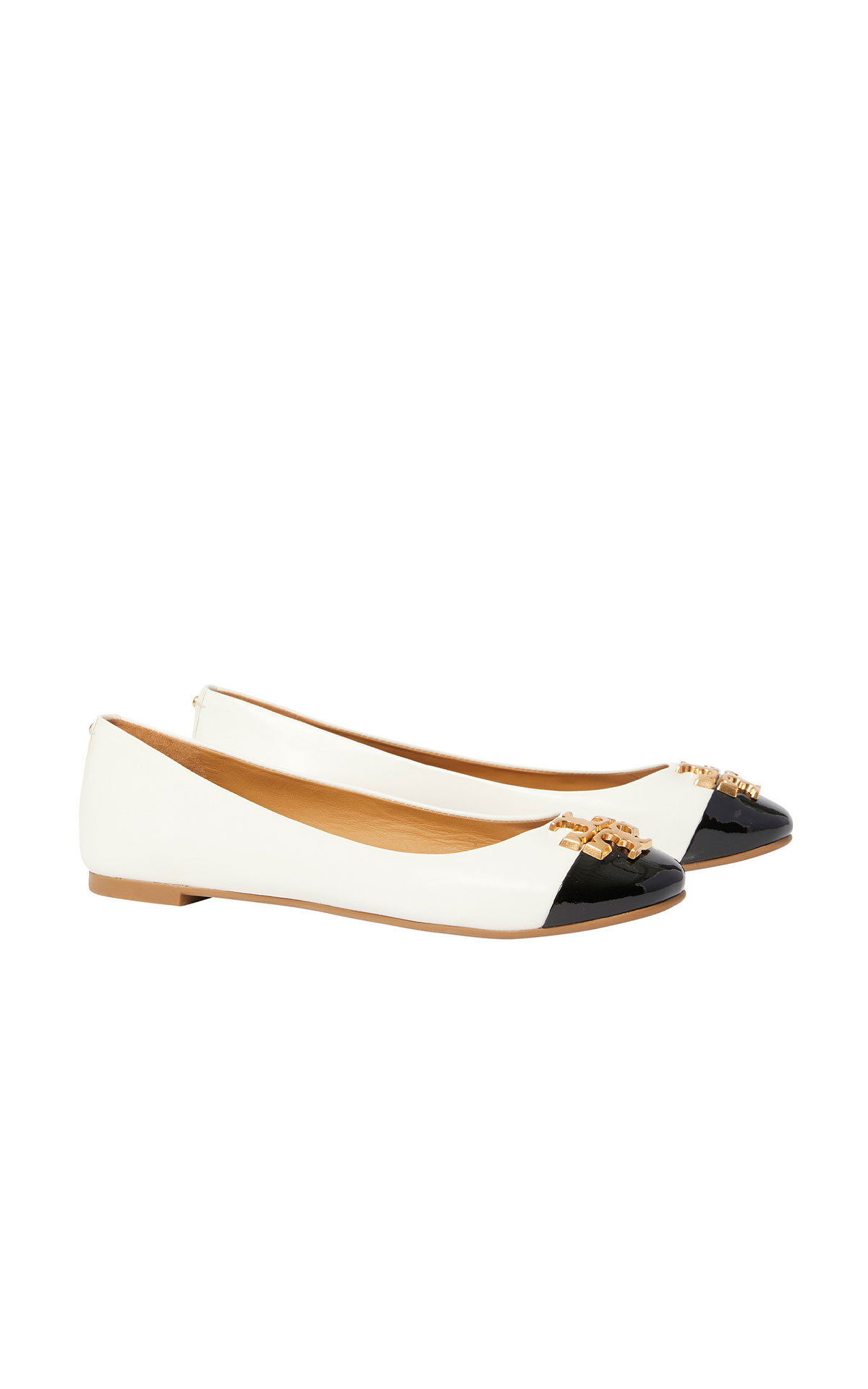 Tory Burch Everly cap-toe ballet shoe from Bicester Village