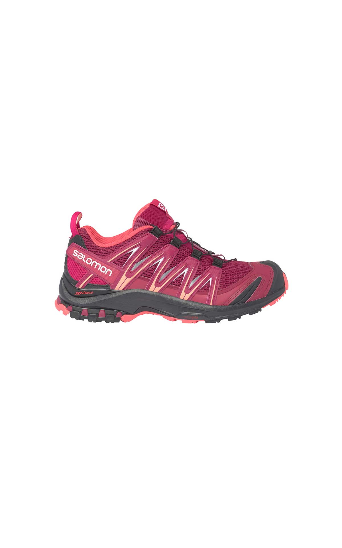 Pink montrail sneakers woman Salomon