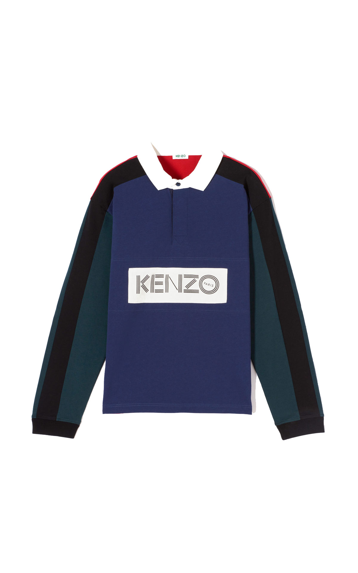 Kenzo Kenzo long sleeve polo shirt from Bicester Village